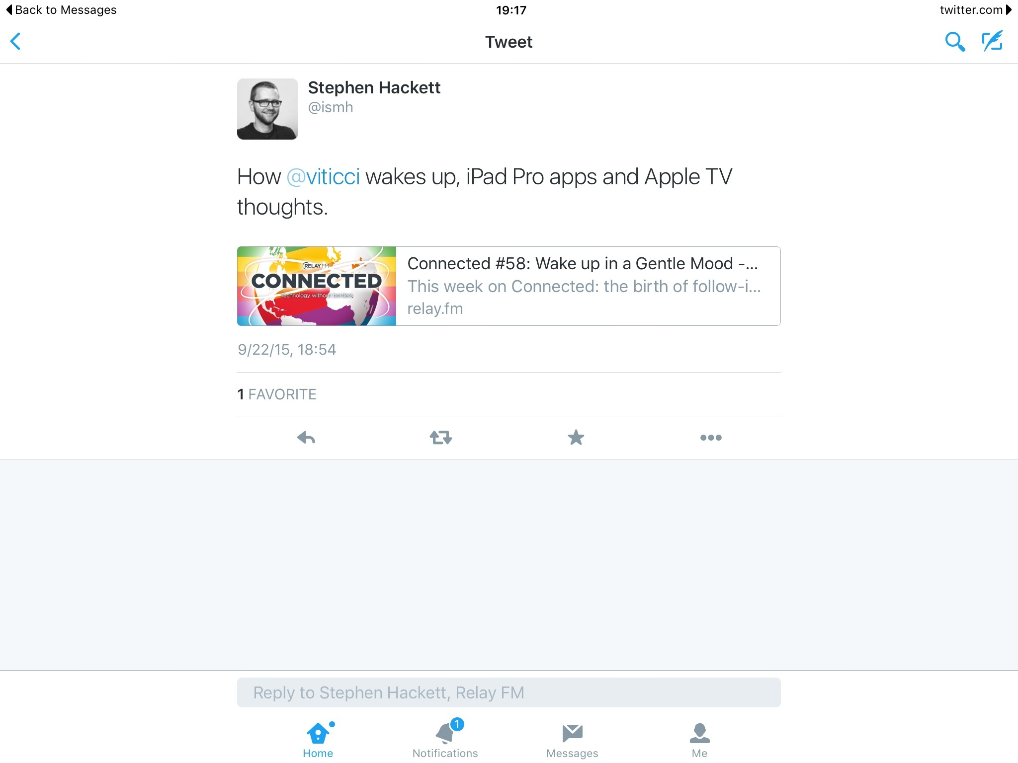 Twitter for iOS Adds Universal Links Support on iOS 9 MacStories