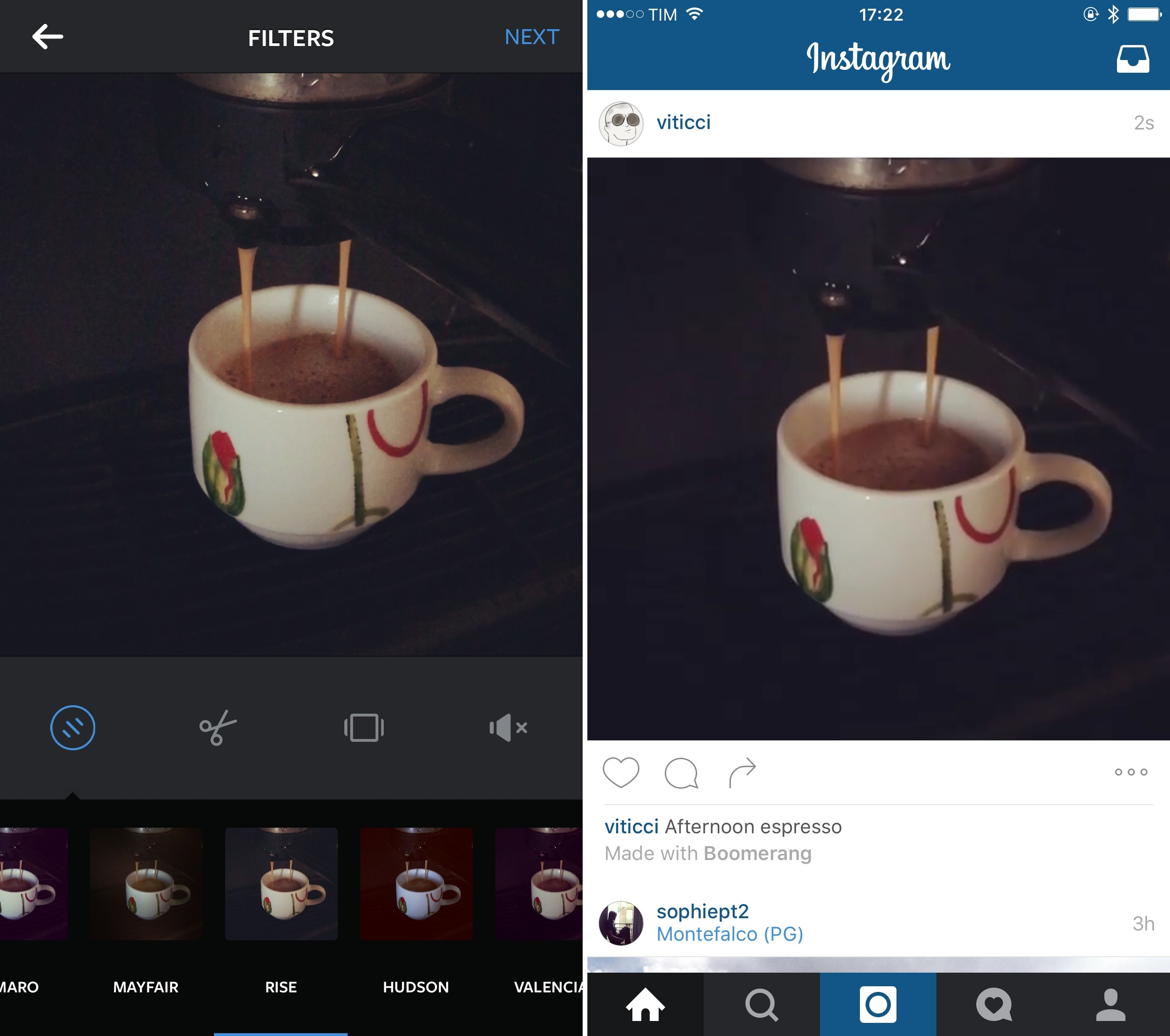 instagram launches boomerang app to create and share