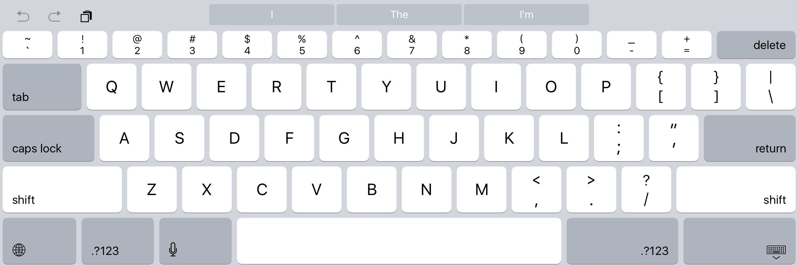 IPad Pro Review A New Canvas  MacStories - Map us keyboard