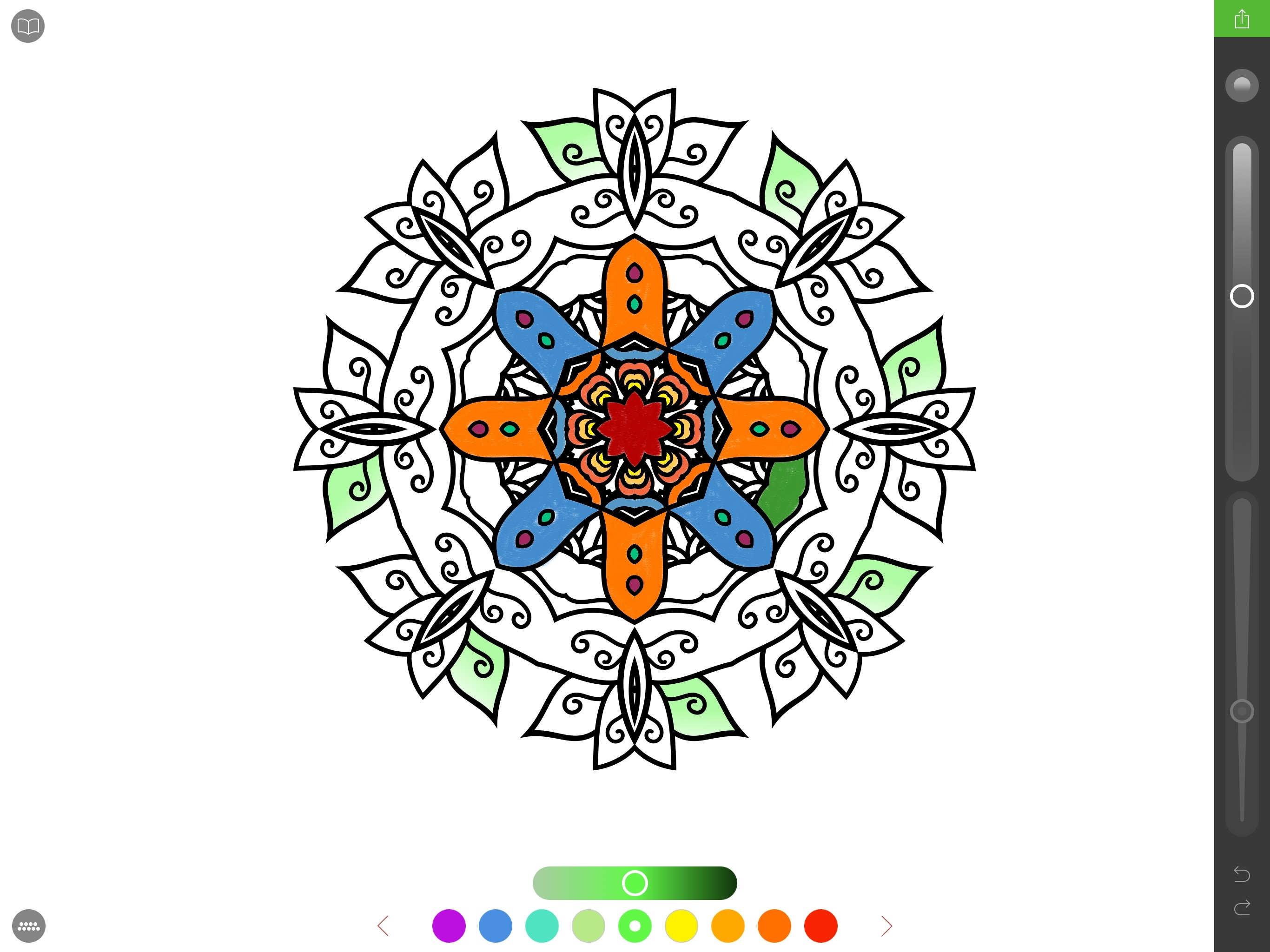 Zen coloring books for adults app - I First Heard Of The Adult Coloring Book Trend From My Friend Myke Who Described On Various Podcasts And Slack Conversations How Coloring Mandala Like
