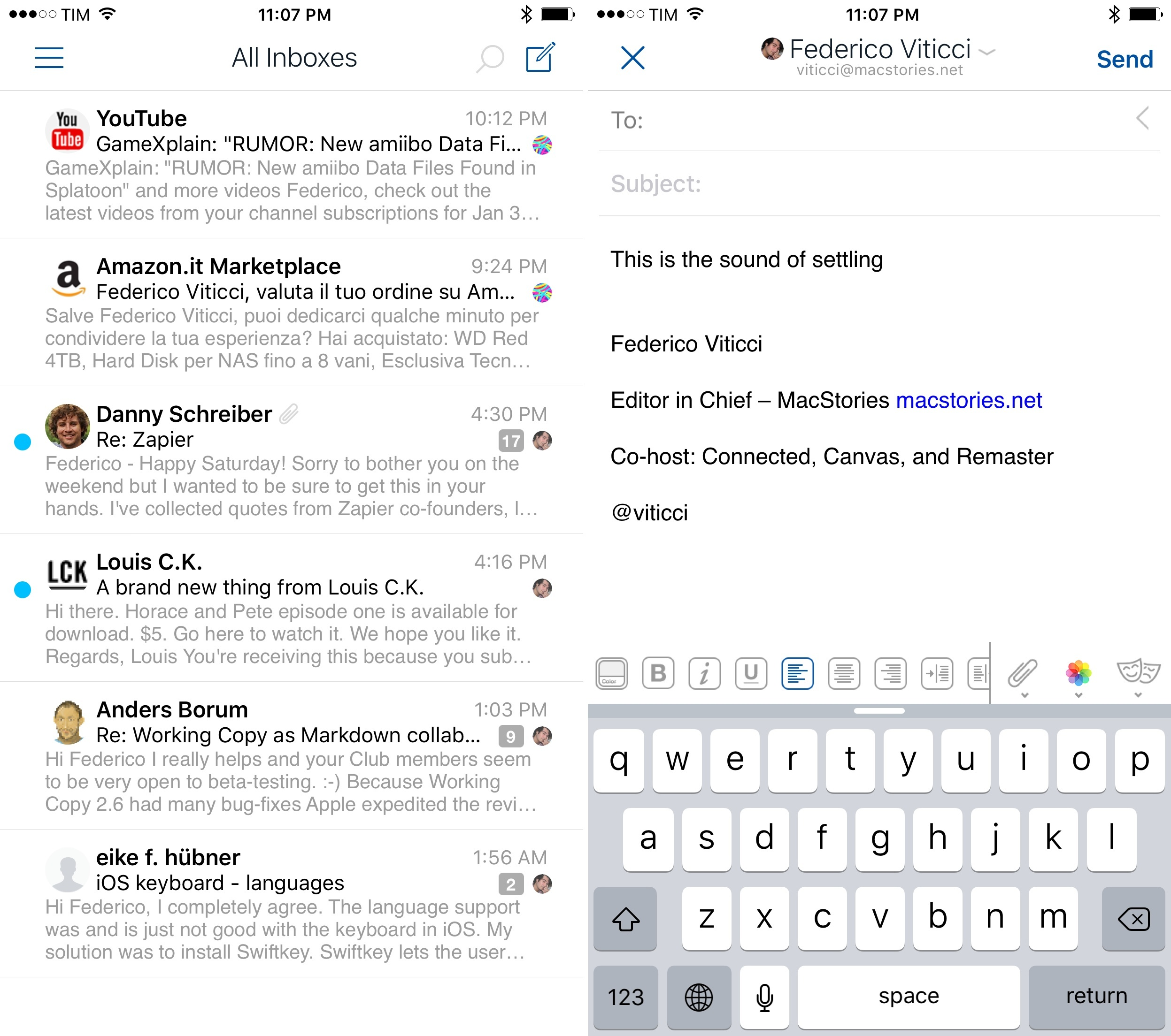 Airmail for iPhone Review: Power User Email - MacStories