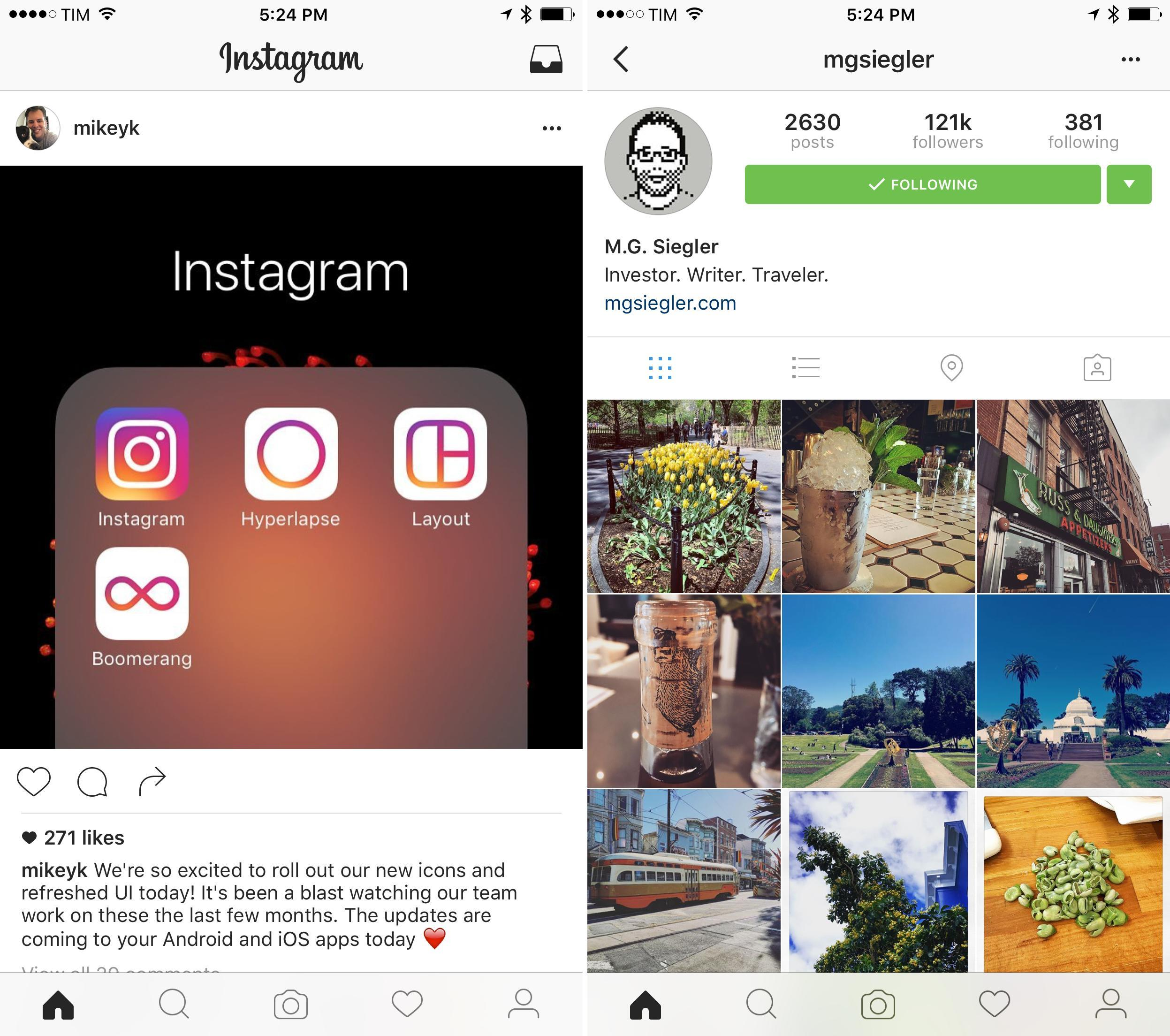 Instagram Says Goodbye to Skeuomorphism with New Icon