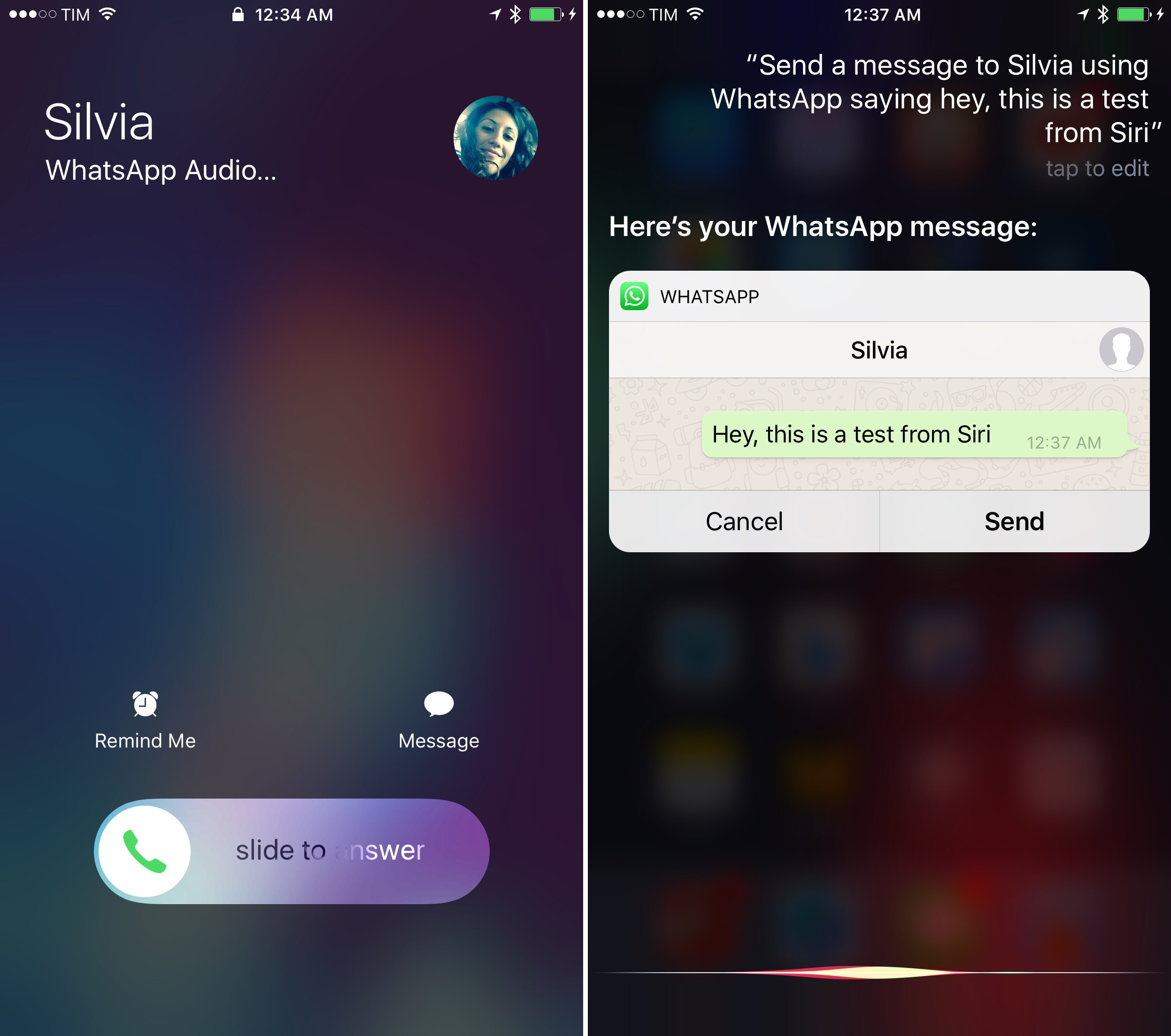 WhatsApp Adds Siri and CallKit Integration for iOS 10