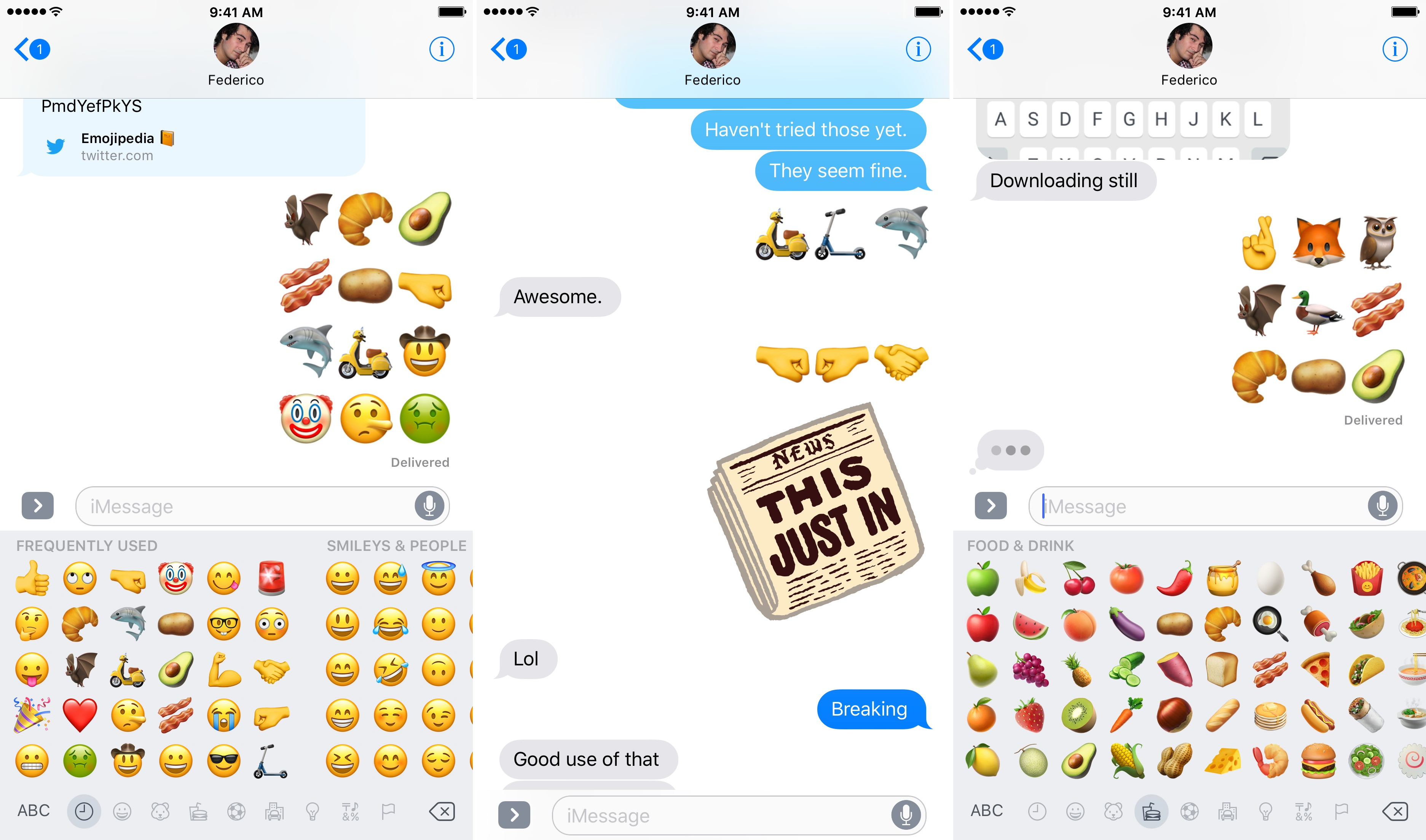 iOS 10 2 Beta Brings New Emoji, Wallpapers, and More