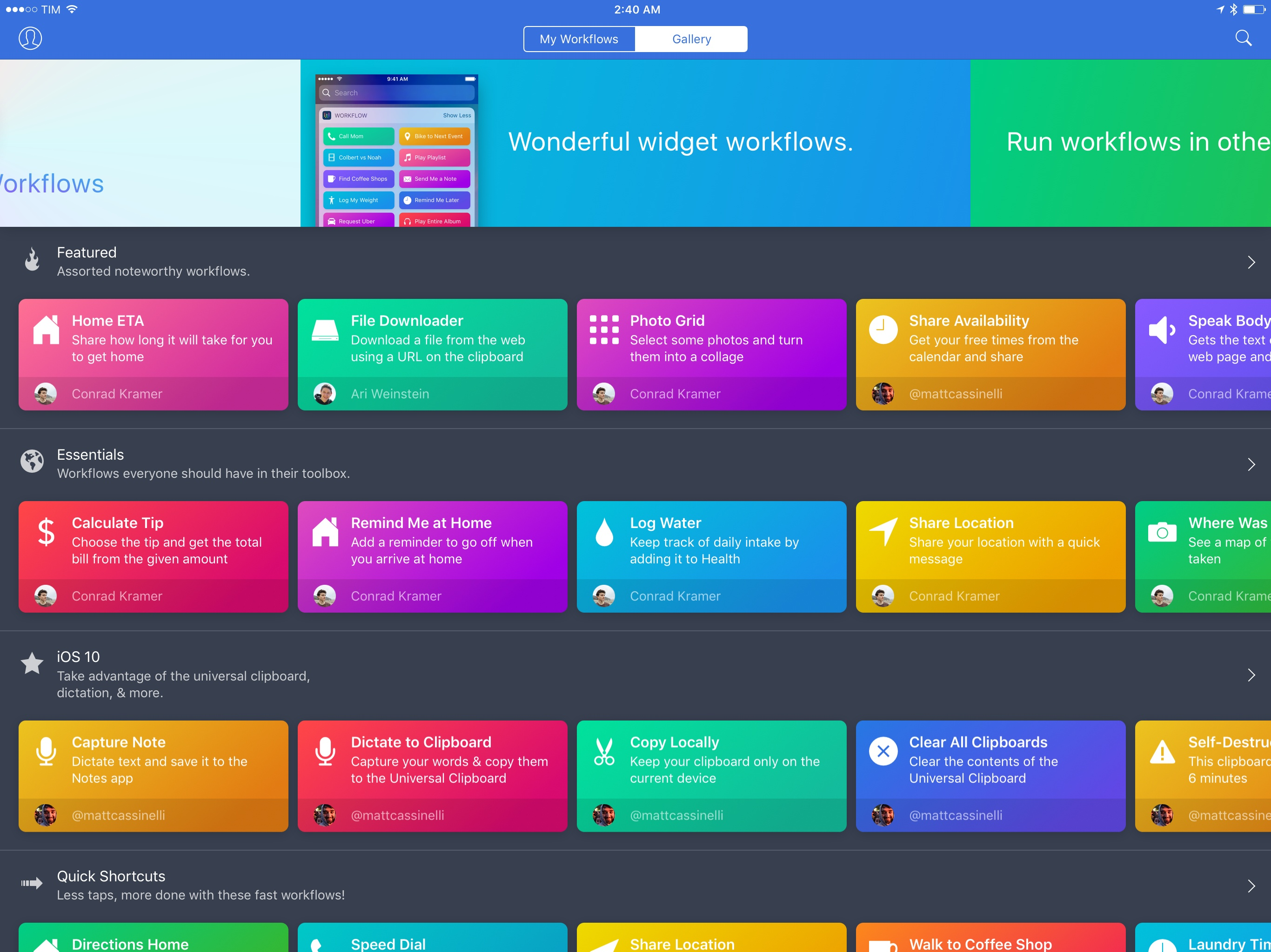 Workflow 1.6 Brings Revamped Gallery, Better Tools to Share and Import Workflows