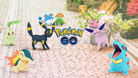 Gen 2 Pokemon Are Coming Later This Week