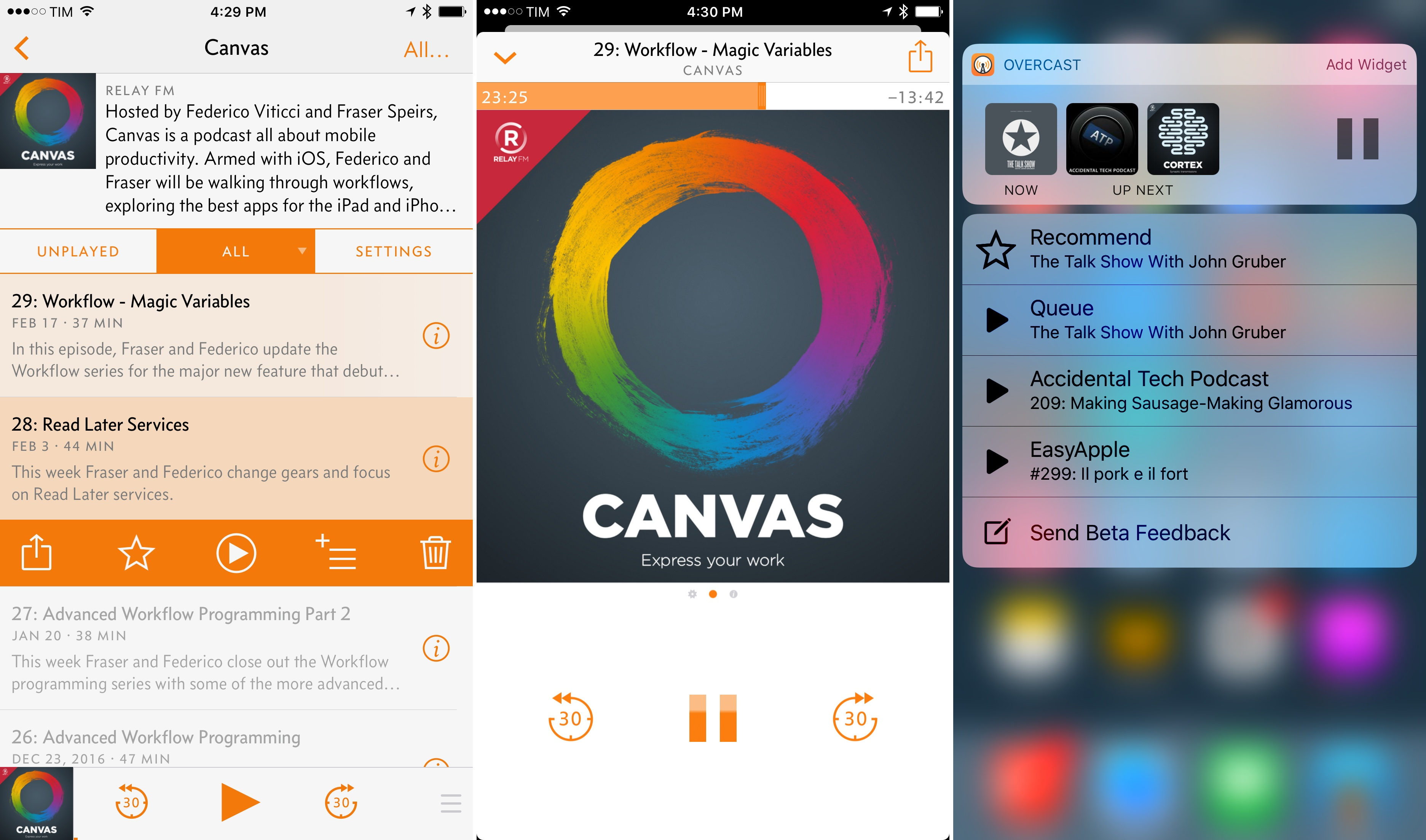 Overcast 3.0: iOS 10 Features, UI Changes, Easy Queuing, and an ...