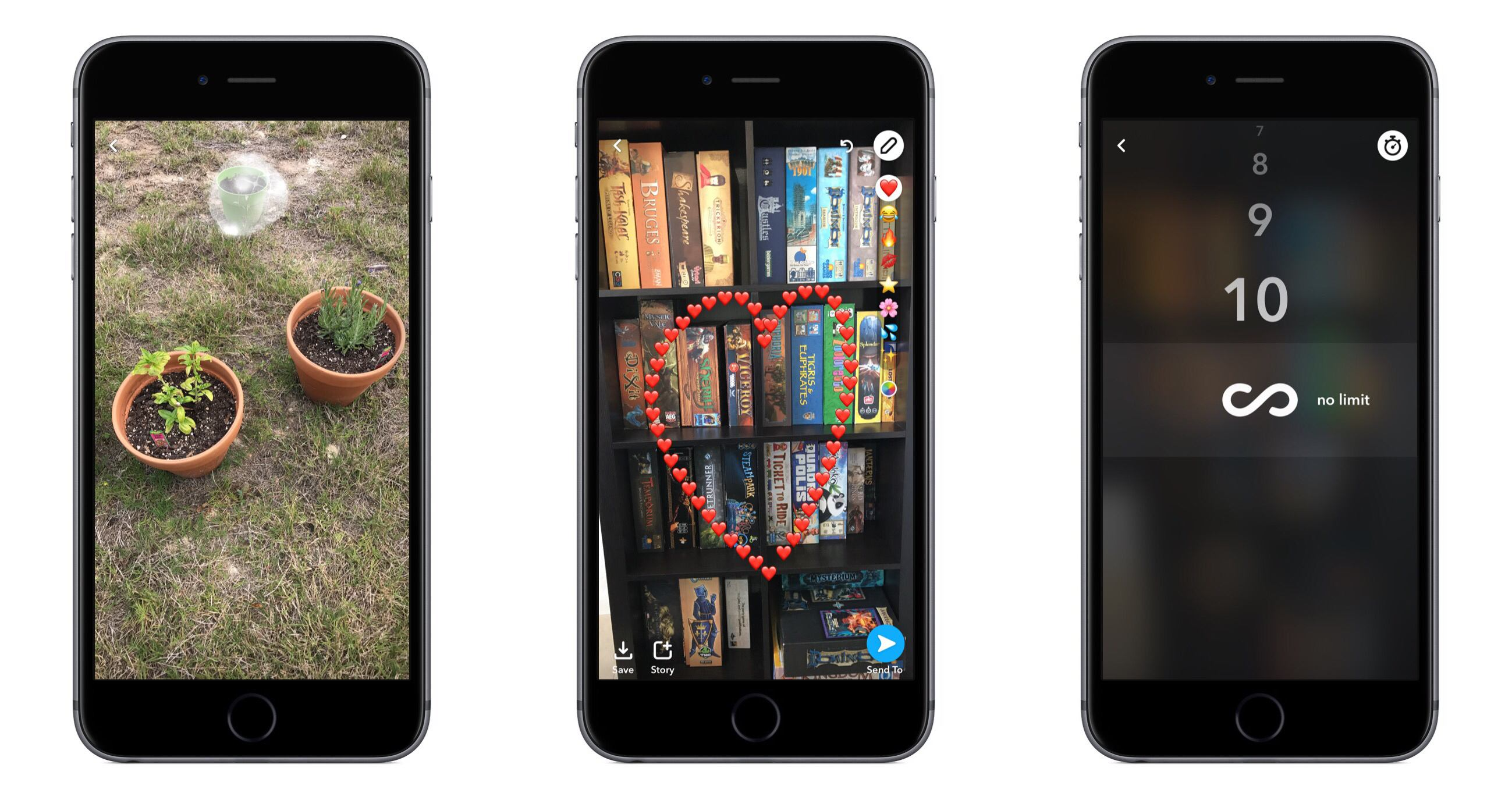 Snapchat update adds 'limitless snaps' and new creative tools