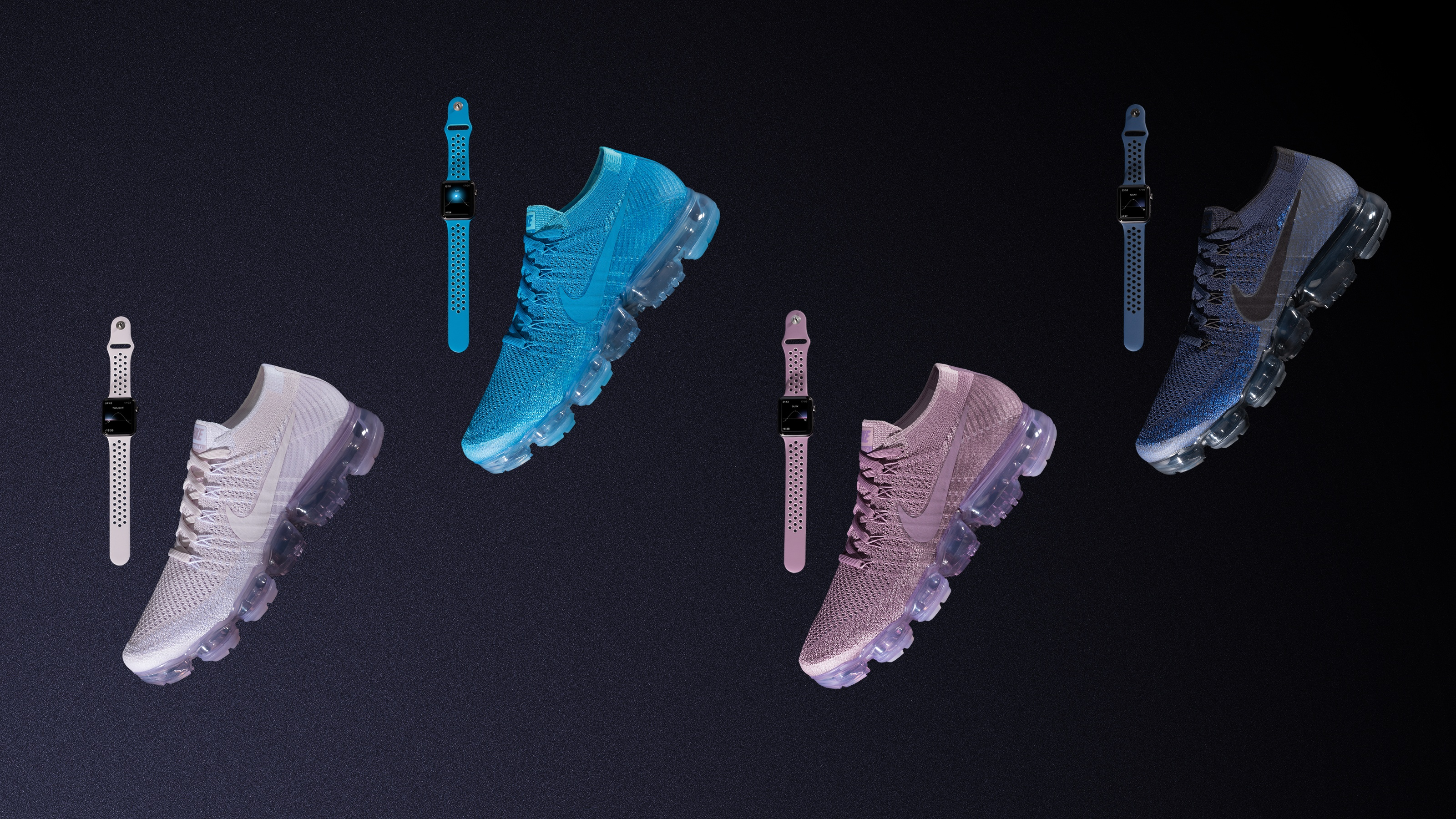 Nike Unveils VaporMax Flyknit Apple Watch Bands