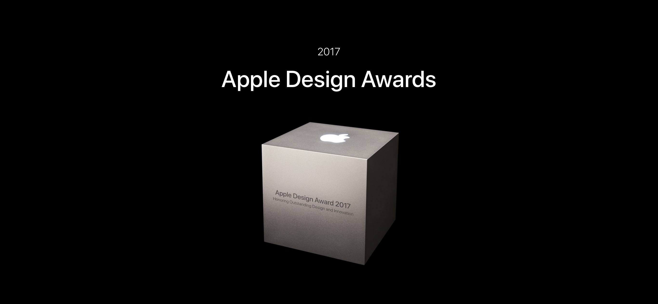 photo image Apple Design Awards 2017 Winners Announced