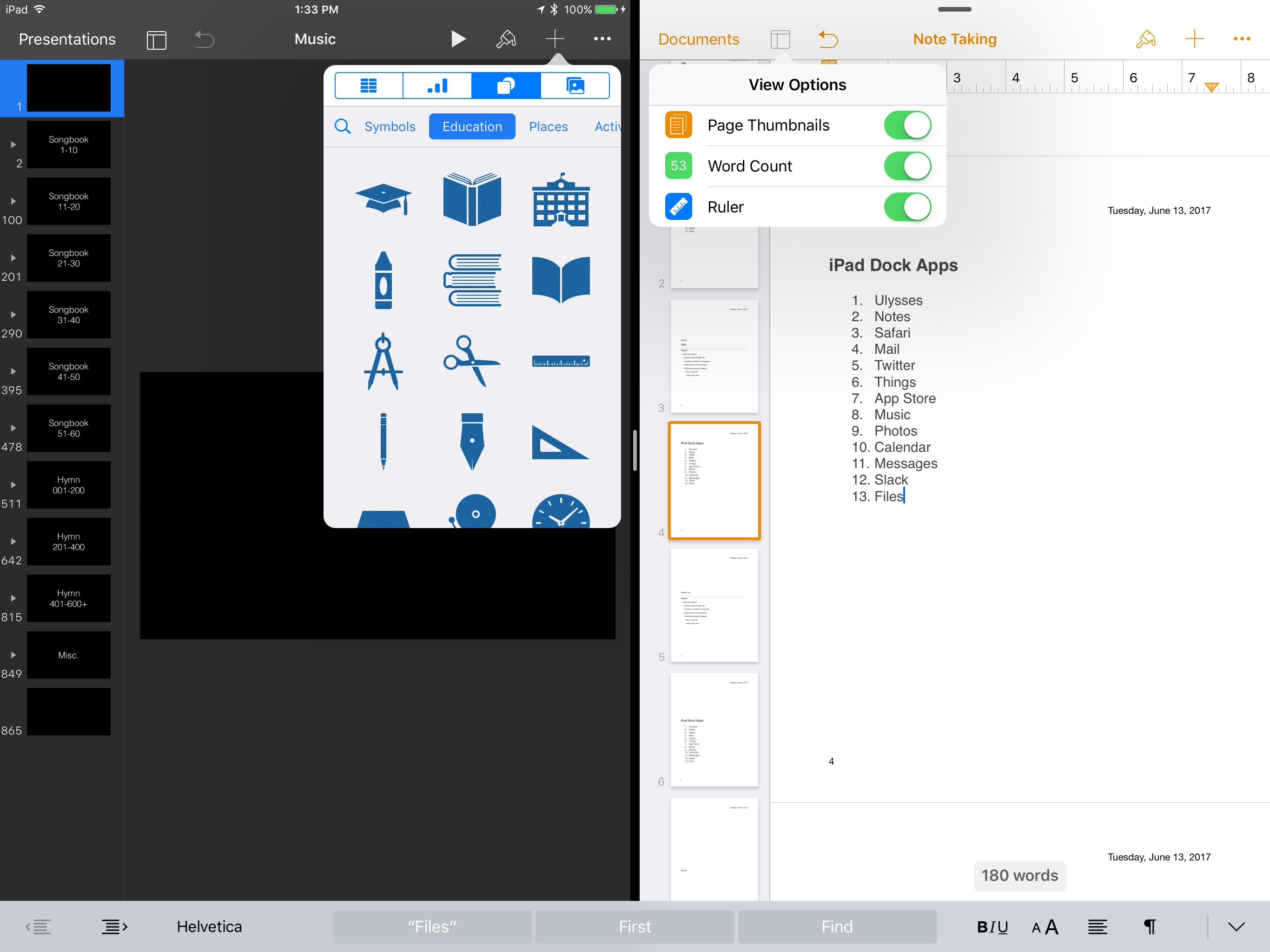 photo image iWork Updates Bring Professionally Drawn Artwork, New View Options, and More