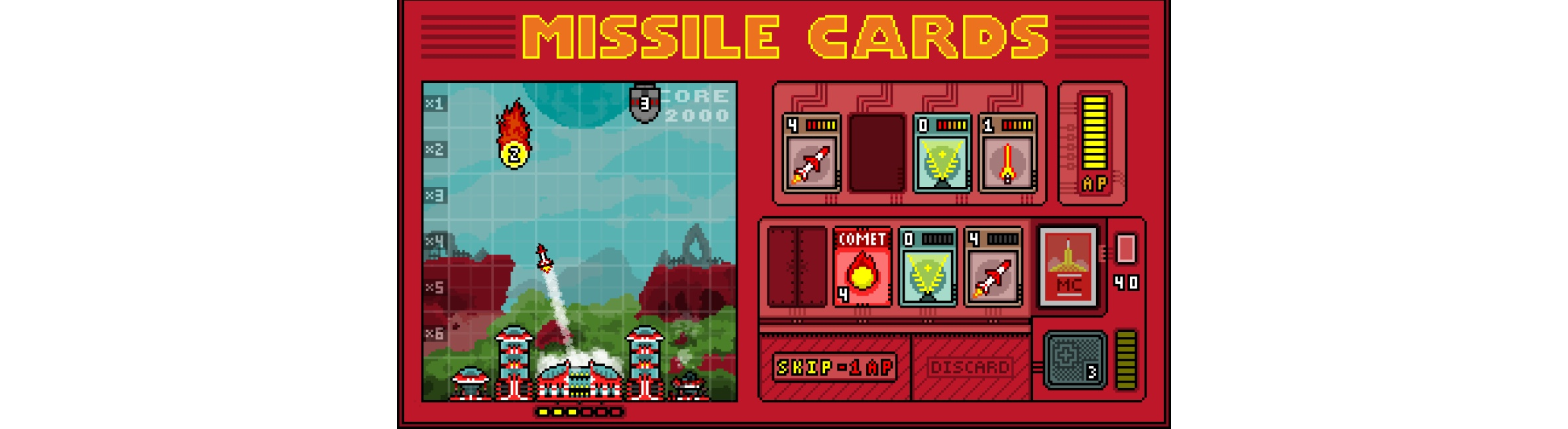 photo image Game Day: Missile Cards
