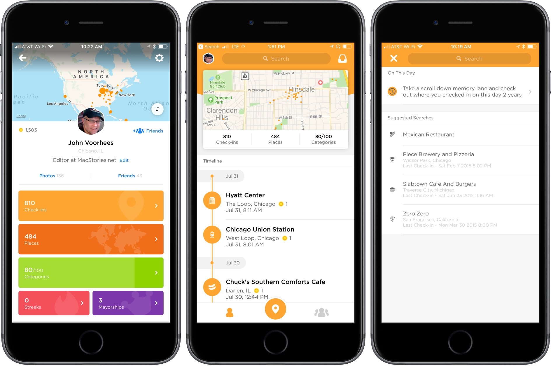 swarm shifts focus to become a personal travel timeline macstories