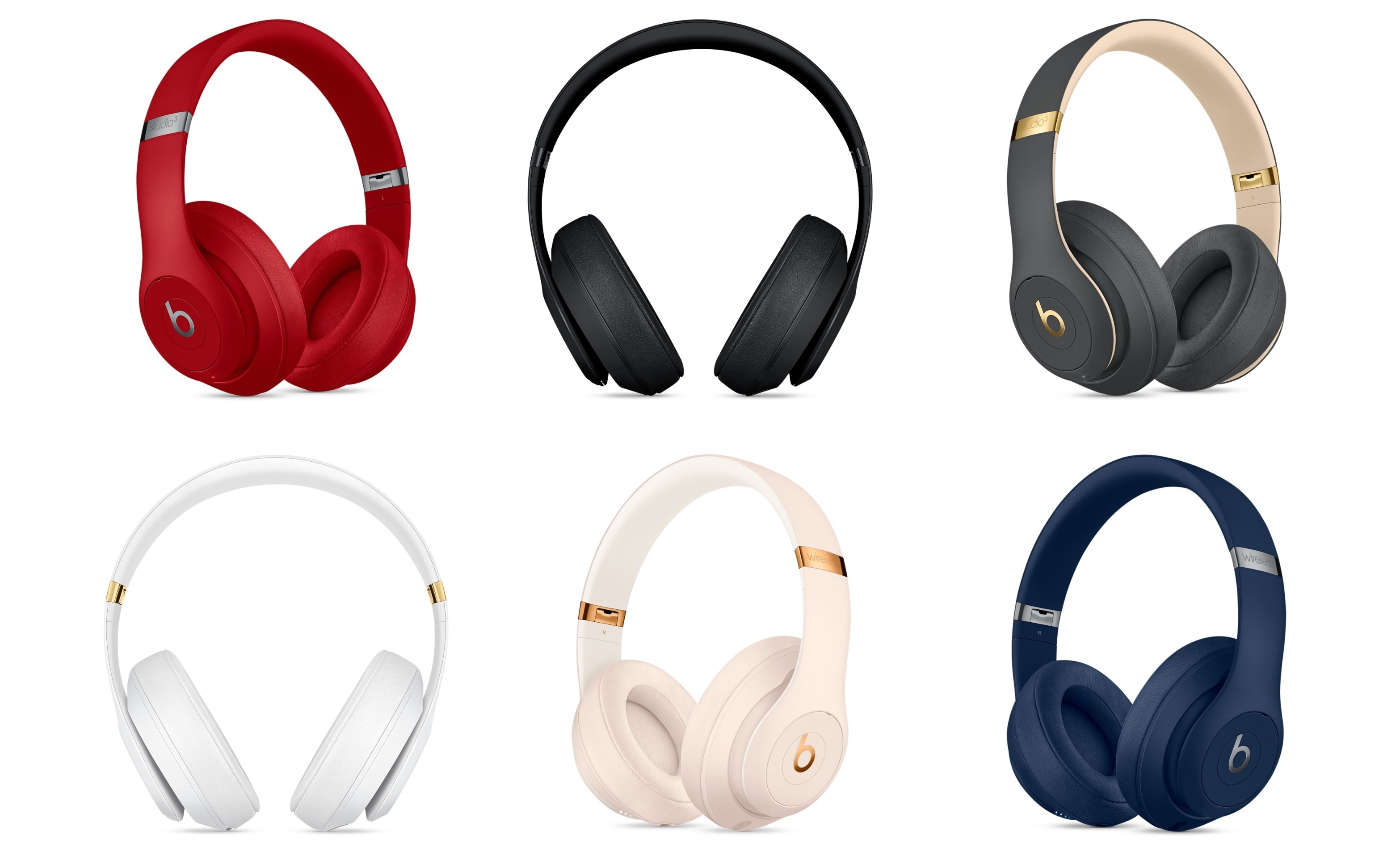 0a01fb92254 Apple Introduces Wireless, Noise-Cancelling Beats Studio3 Headphones ...