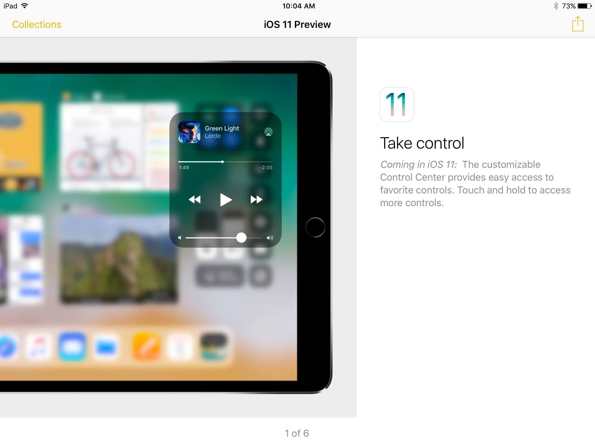 photo image Apple Uses Tips App to Promote iOS 11 Features