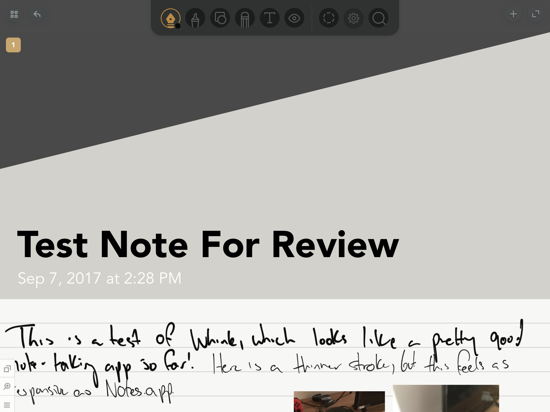 photo image Whink Review: Taking Beautiful Notes