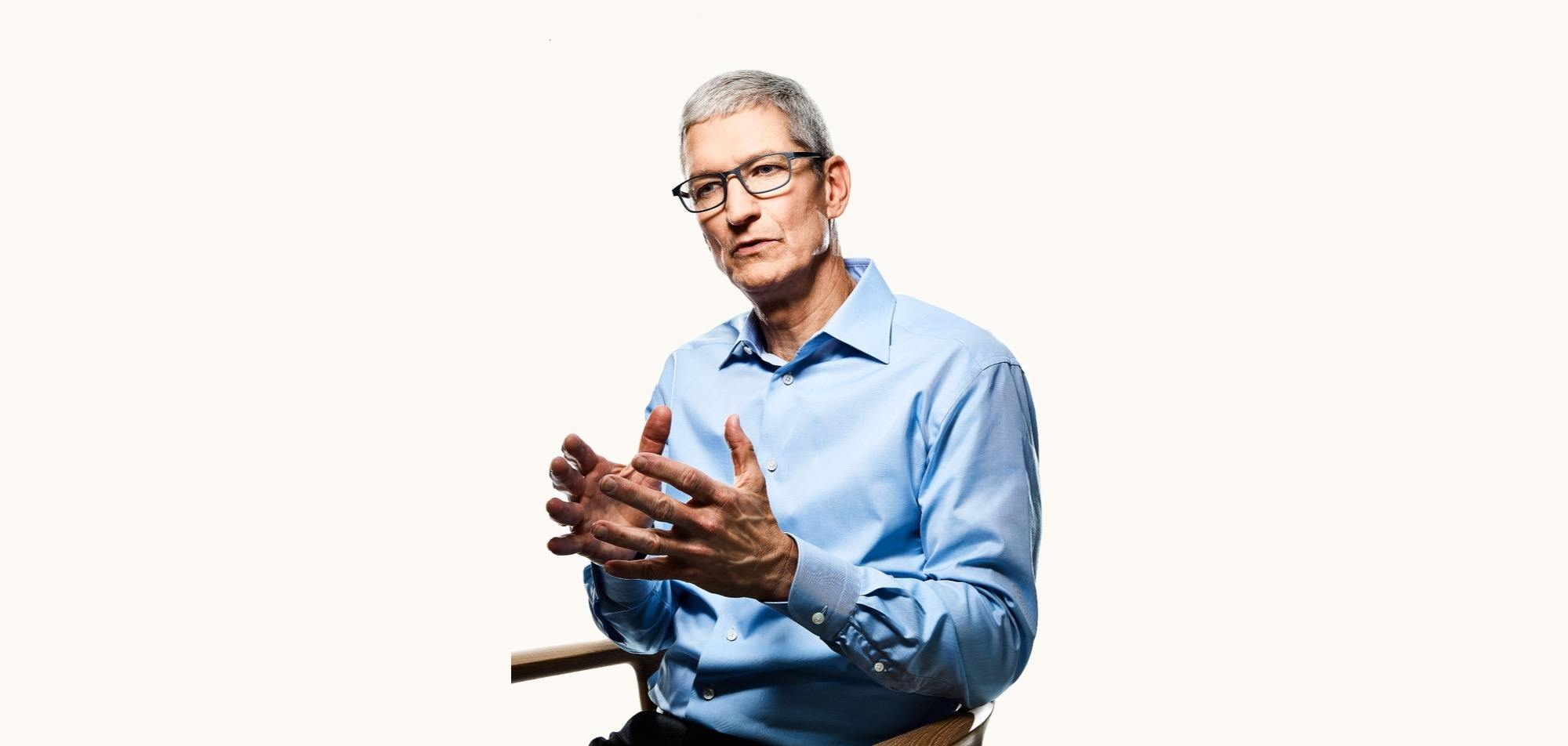 photo image Tim Cook Discusses Apple's Convictions of Societal Responsibility in New Interview