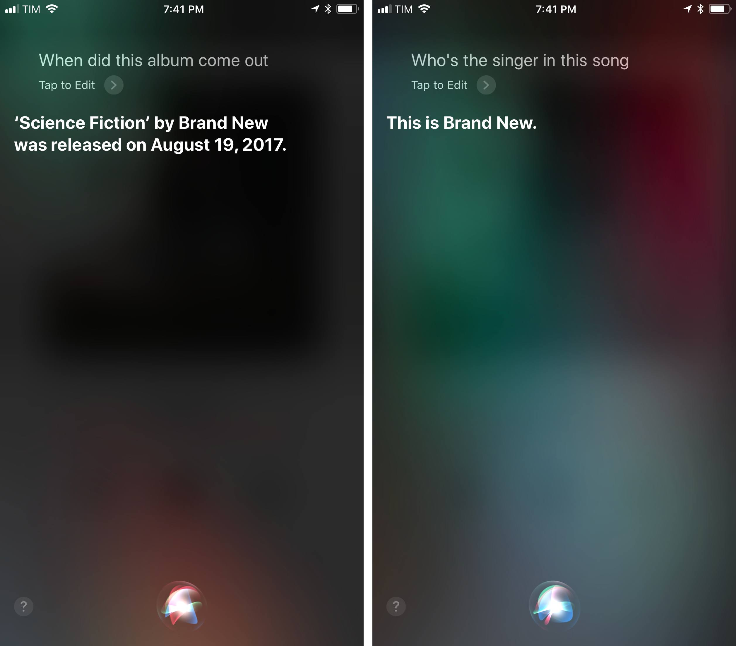 Deeper music knowledge will likely come to Siri in the future.