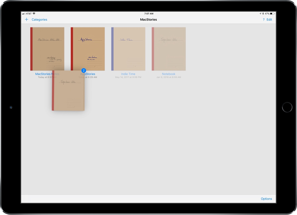 photo image GoodNotes Adds Drag and Drop Flexibility
