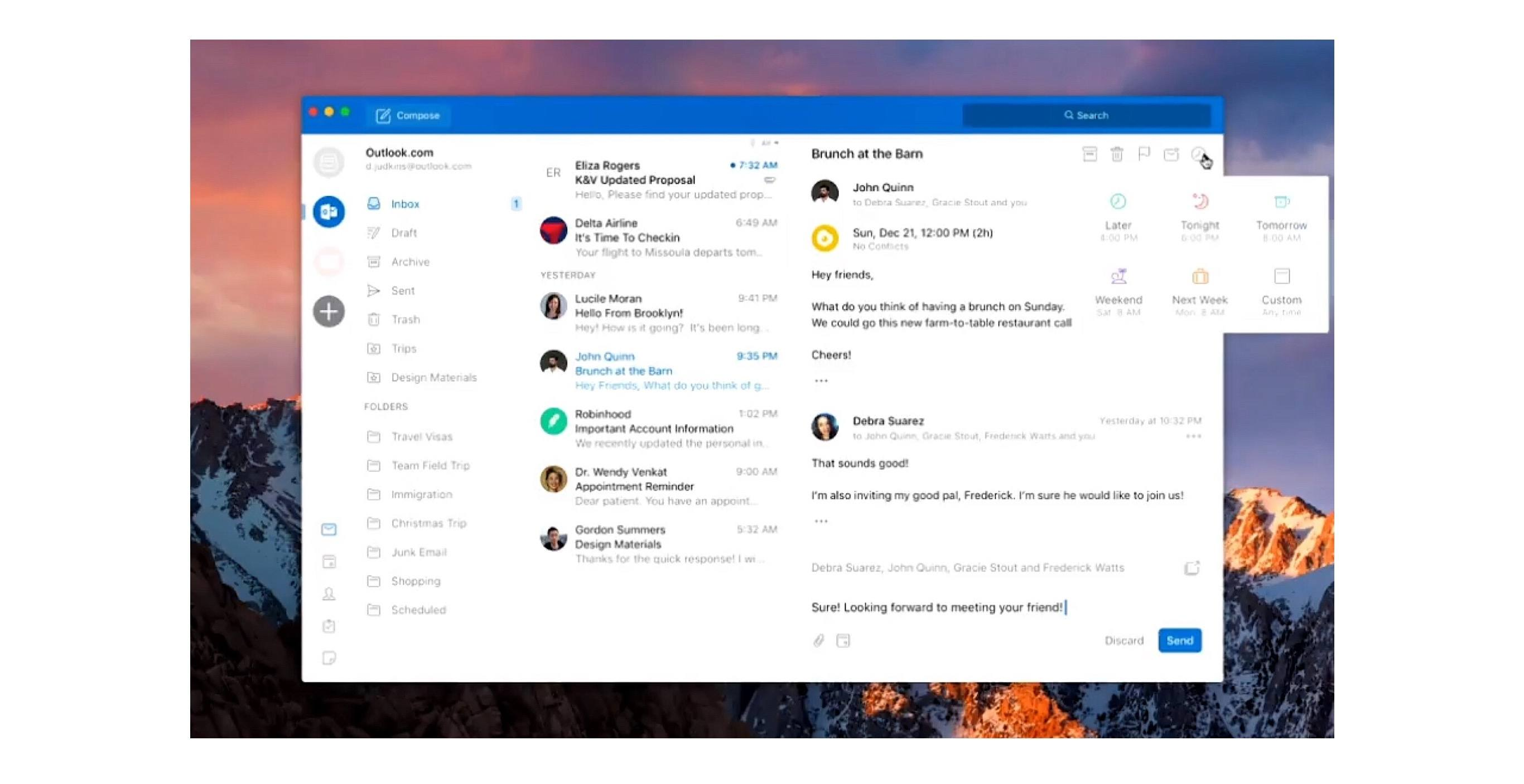 Microsoft Outlook for Mac Undergoing Major Redesign