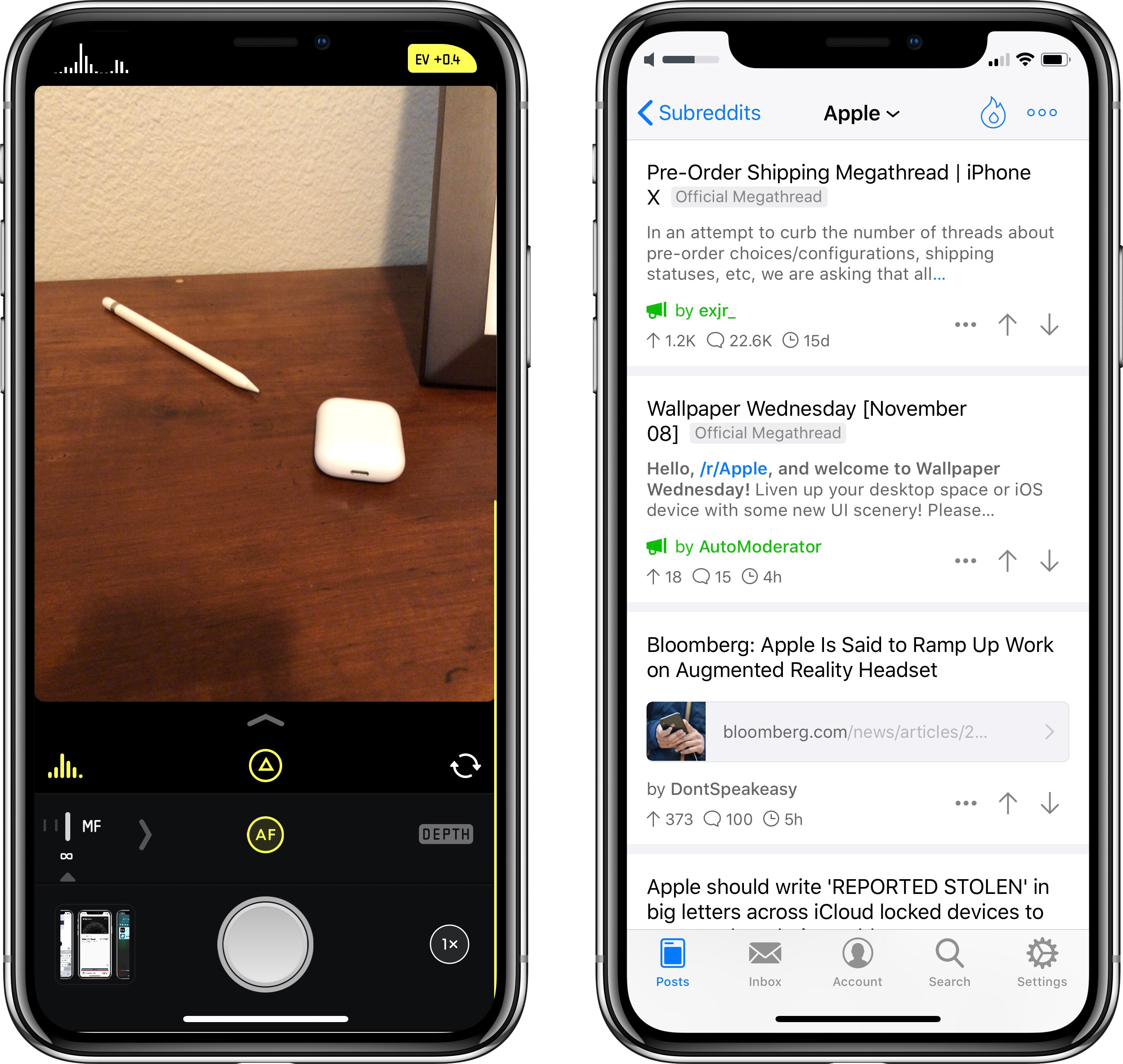 Iphone x app roundup the innovative beautiful and for Picture apps for iphone