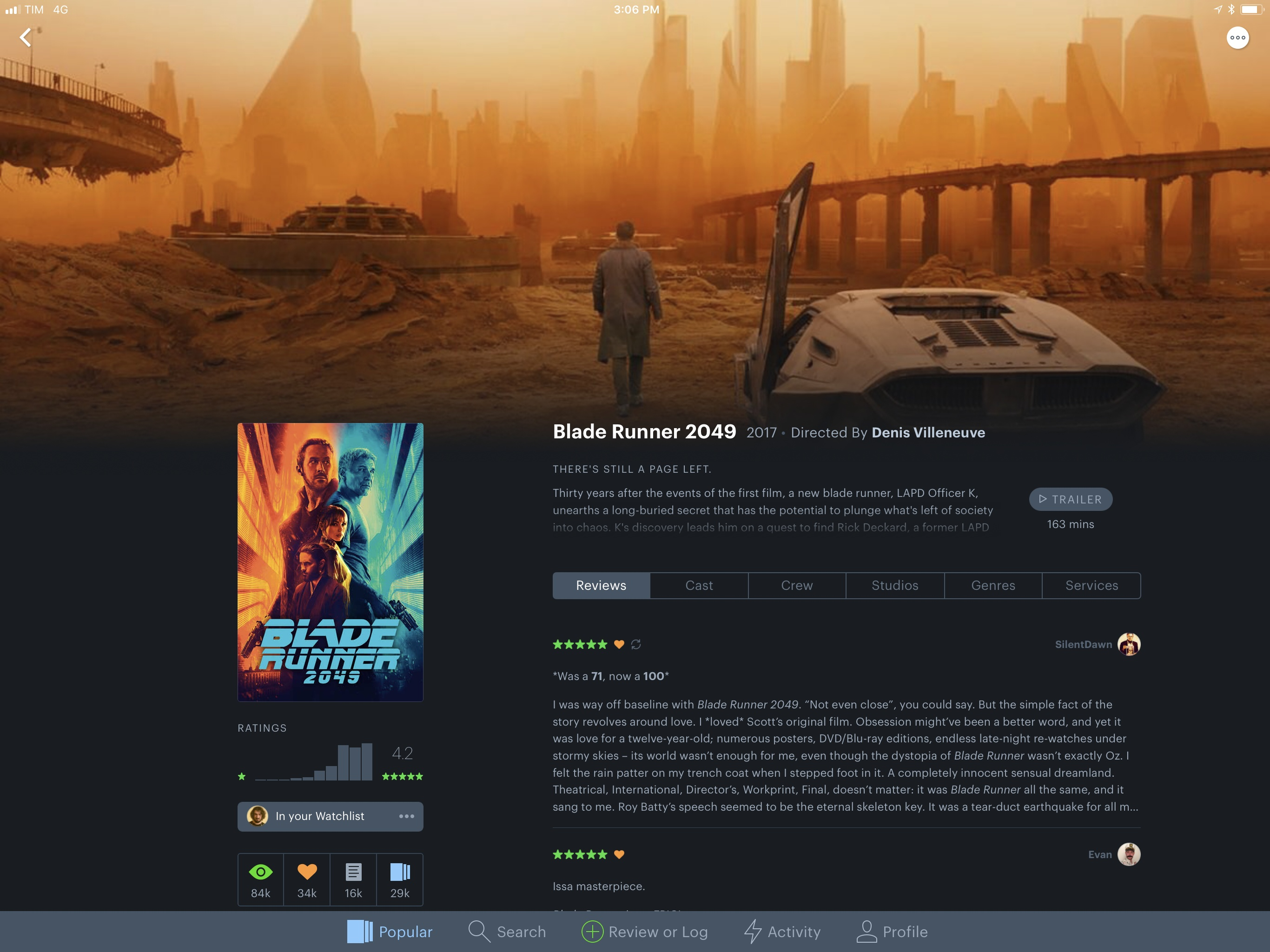 photo image Letterboxd 2.0 Brings iPad Version, Support for iOS Automation Apps