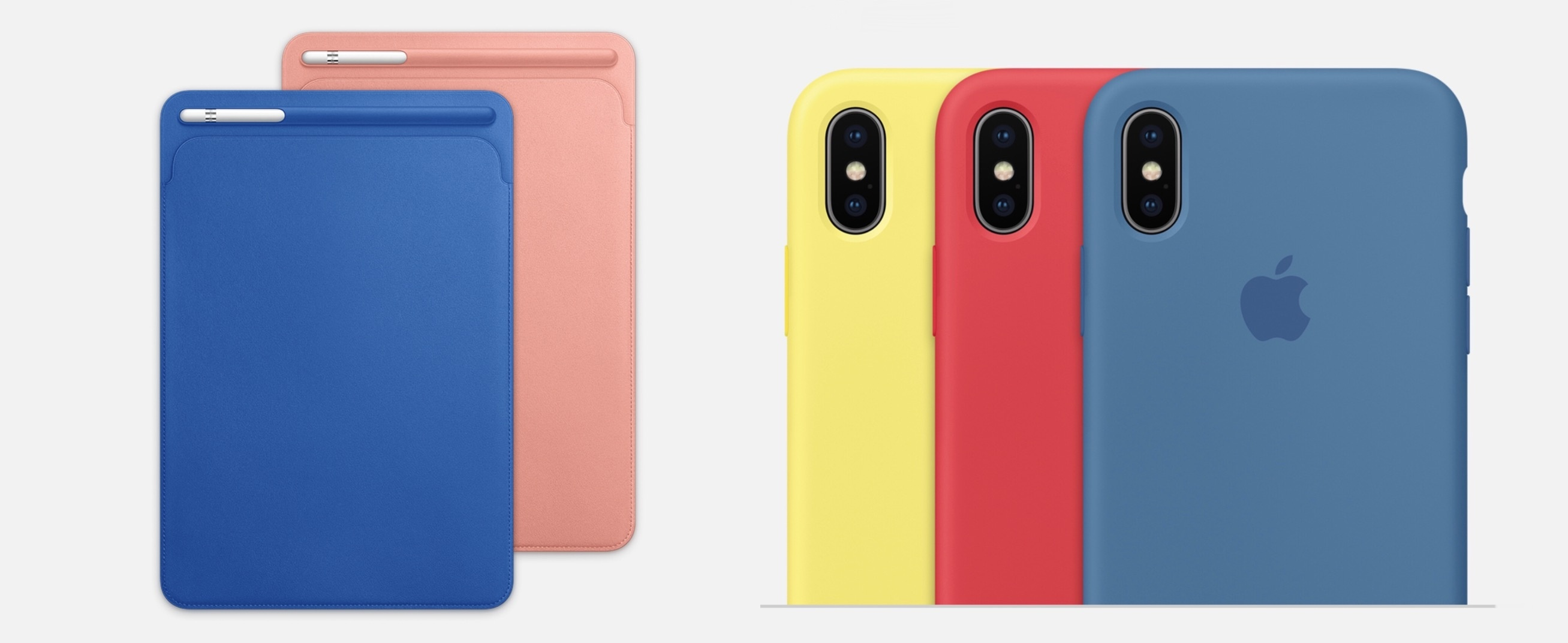 Apple Introduces New Spring Colors for iPhone and iPad