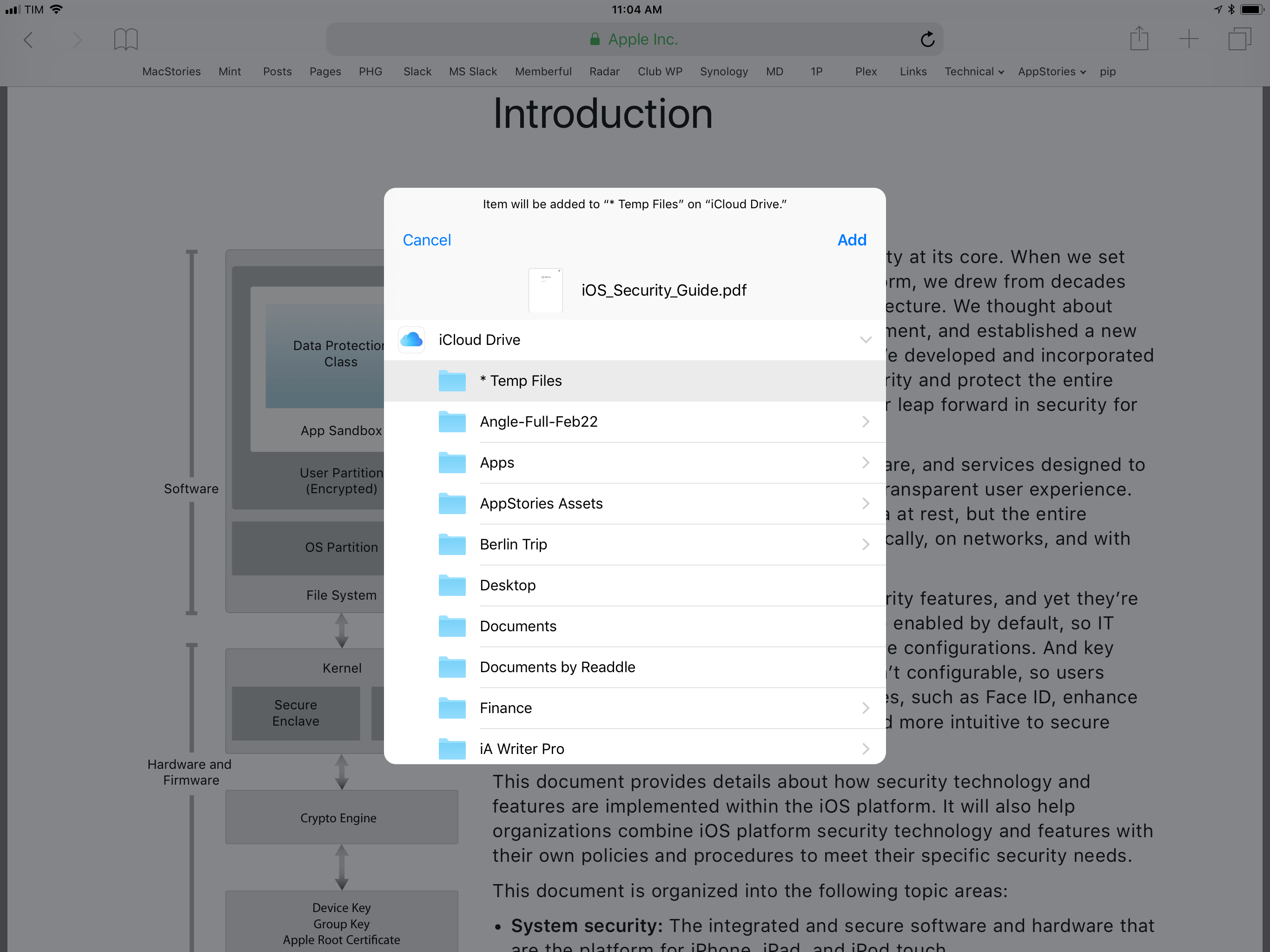 The 'Save to Files' extension is especially useful for PDF documents viewed in Safari.