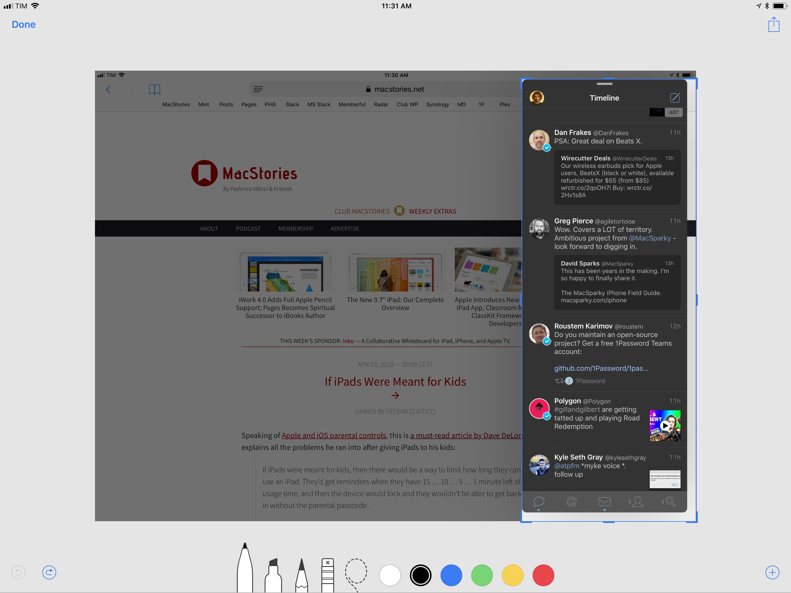 11 Tips for Working on the iPad - MacStories