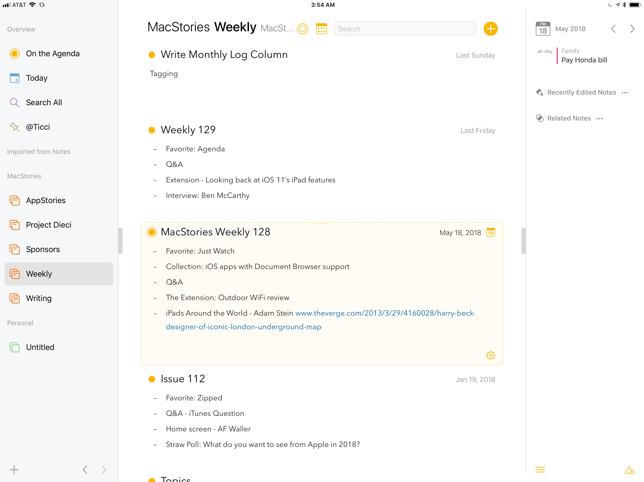 Agenda For Ios Review Macstories