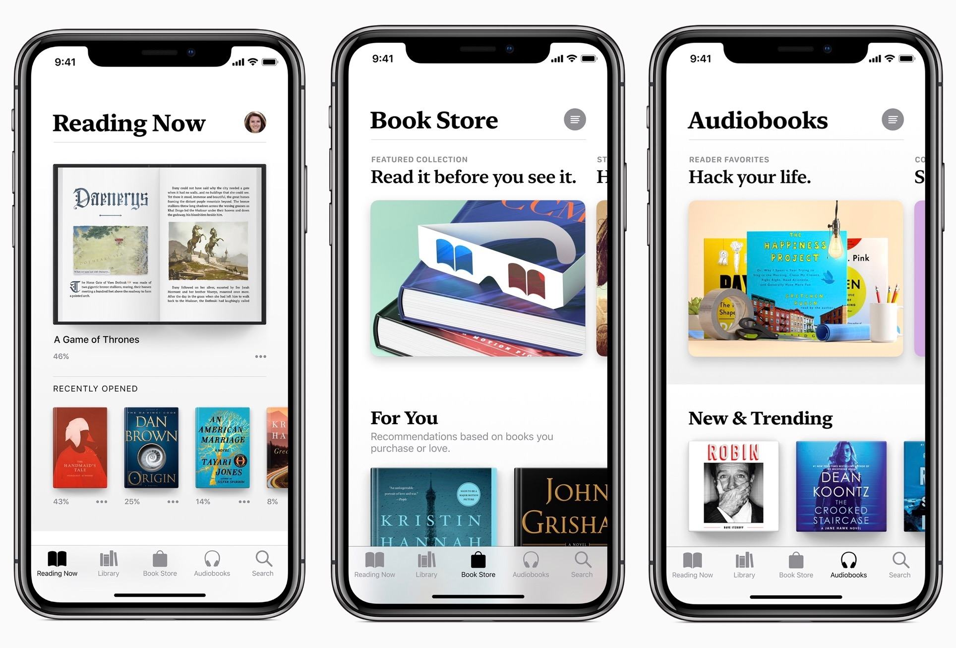IOS 12 Apple Books App Gets Detailed