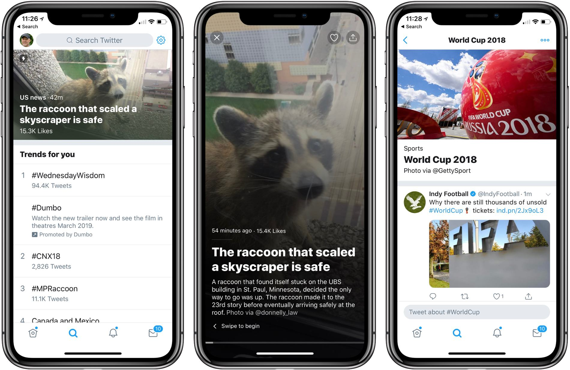 photo image Twitter Announces News Features, Opt-Out Push Notifications, and Redesigned Moments