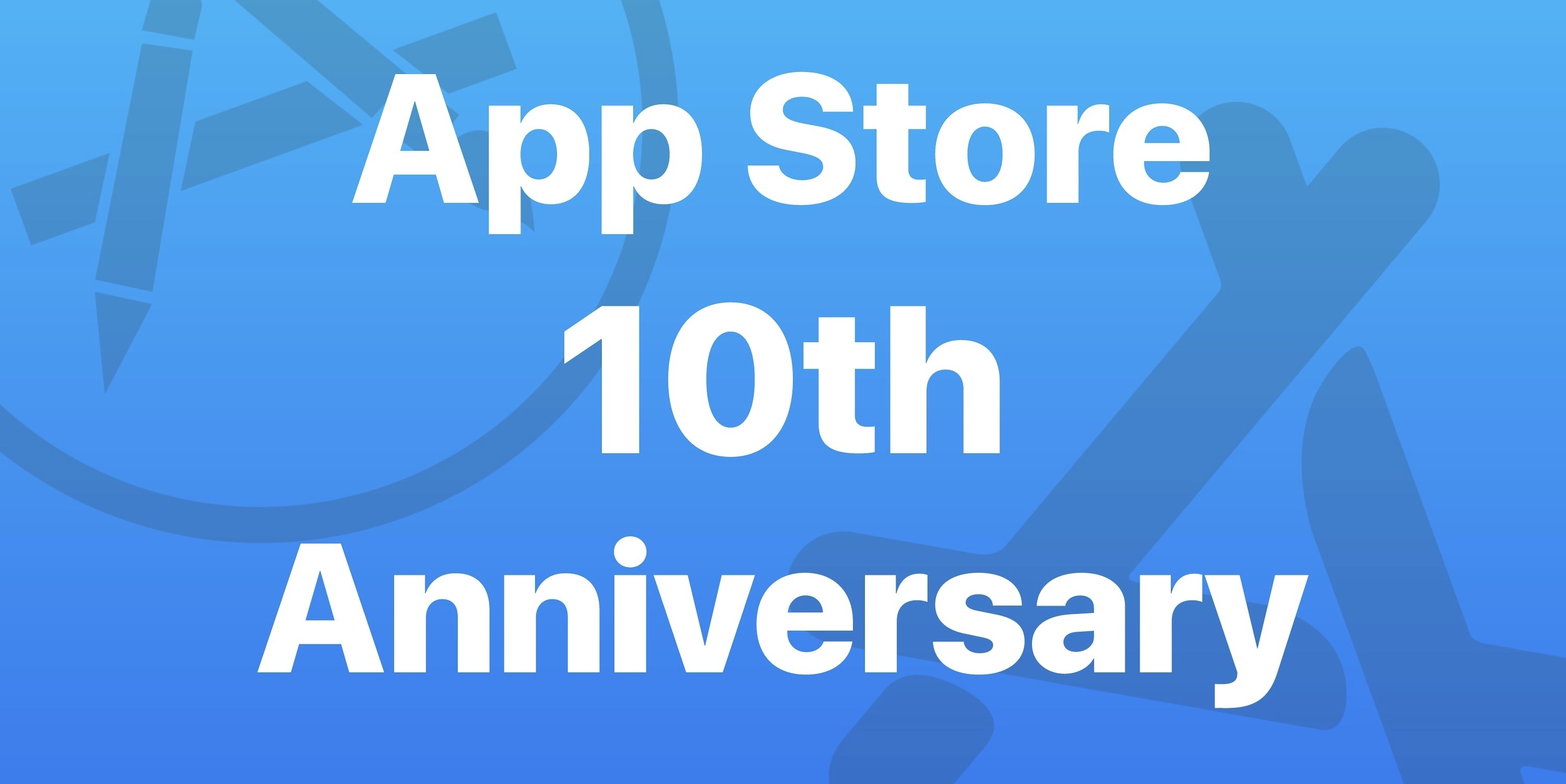 photo image Celebrating the App Store's 10th Anniversary with a Week of Special Coverage