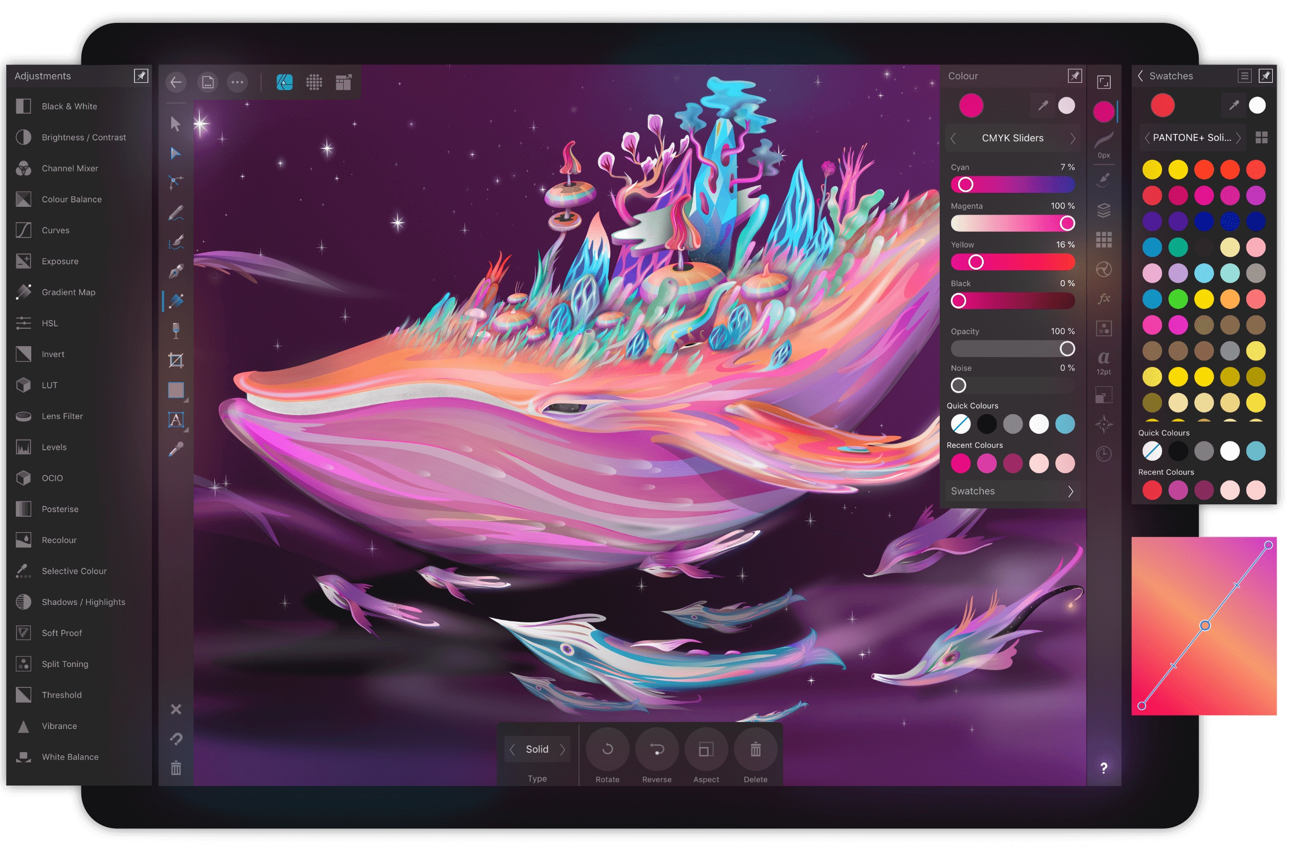 Affinity Designer Debuts On IPad As A Full-Featured