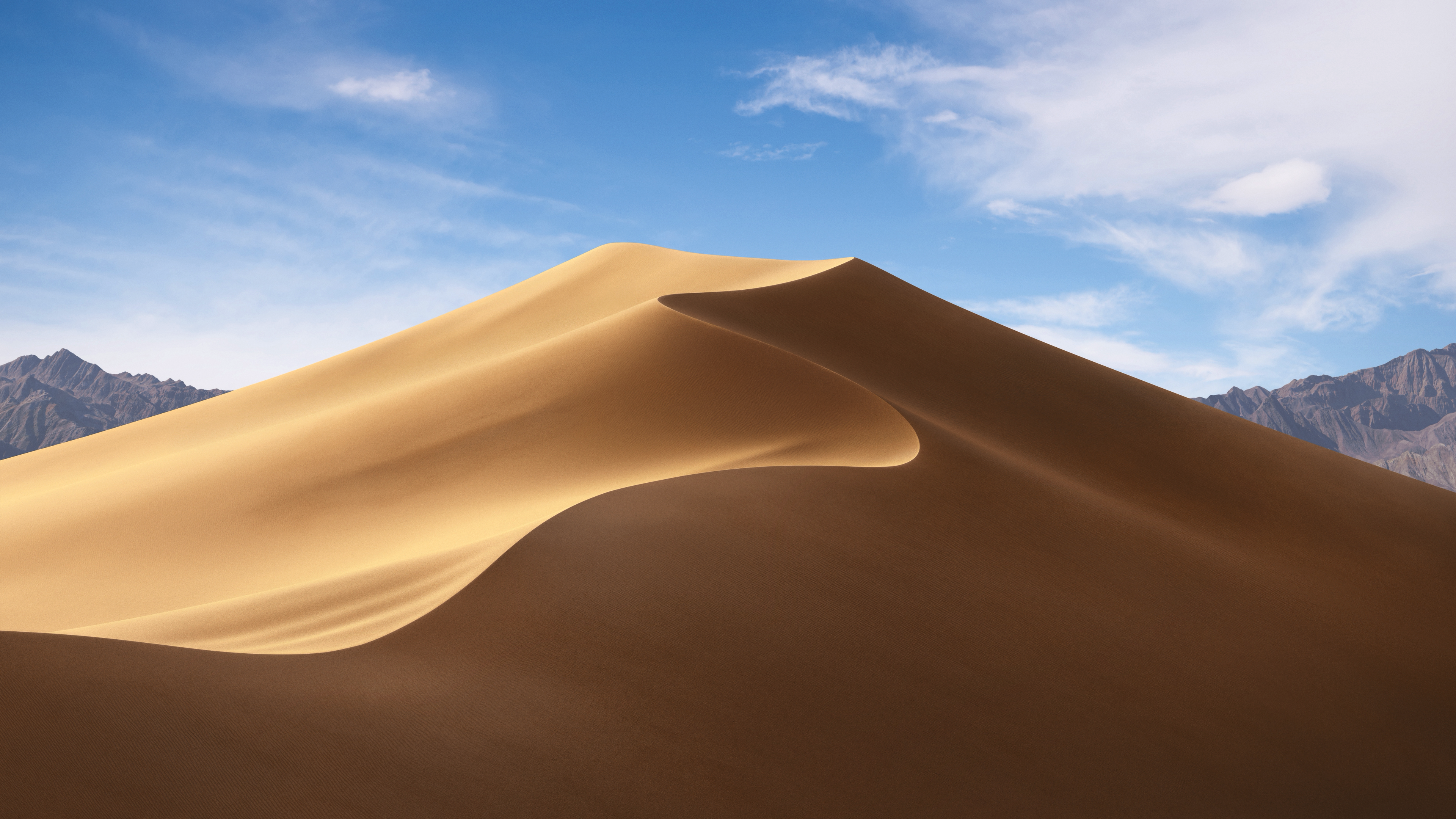 Mojave includes an assortment of new wallpapers.