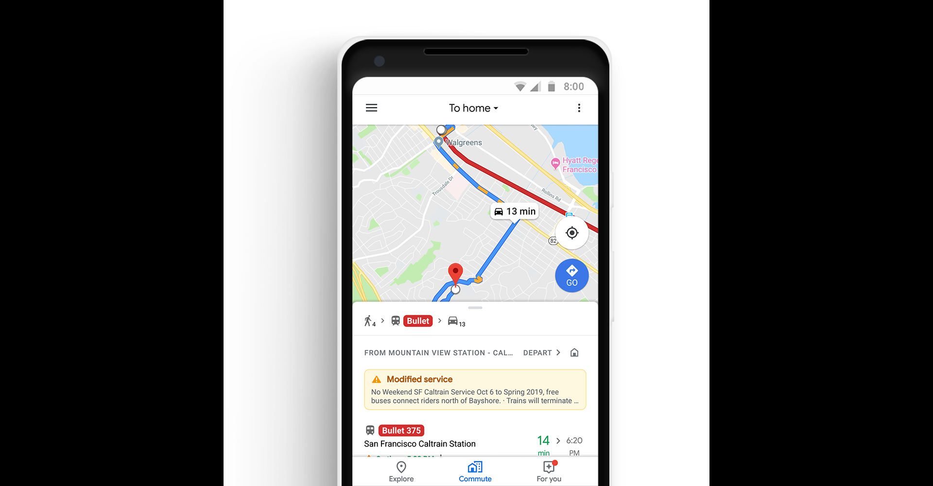Google Maps Adds Commuting Features - MacStories on google maps app for iphone, google docs android app, google hangouts android app, google maps apple, google maps home, google maps technology, google maps web, google maps amazon, google maps tablet, google tv android app, google maps keyboard, google play android app, google groups android app, google maps travel, google plus android app, google analytics app, google maps indoor map, google earth app, google maps books, app store app,