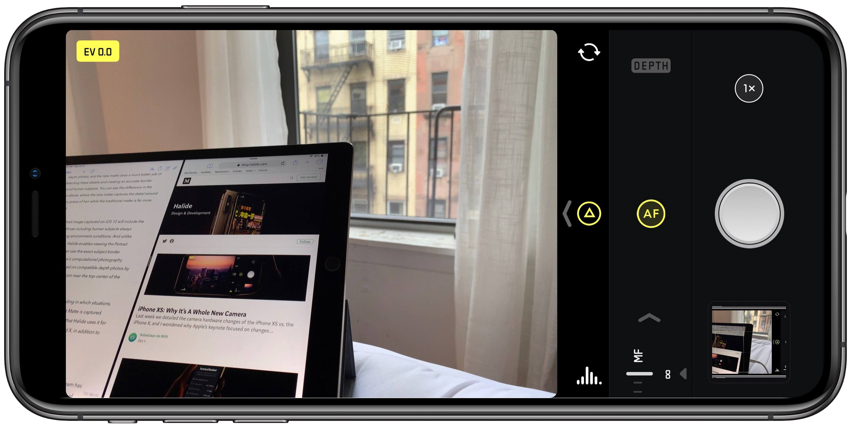 Halide Introduces Smart Raw For Iphone Xs Joining A Host Of Other Improvements
