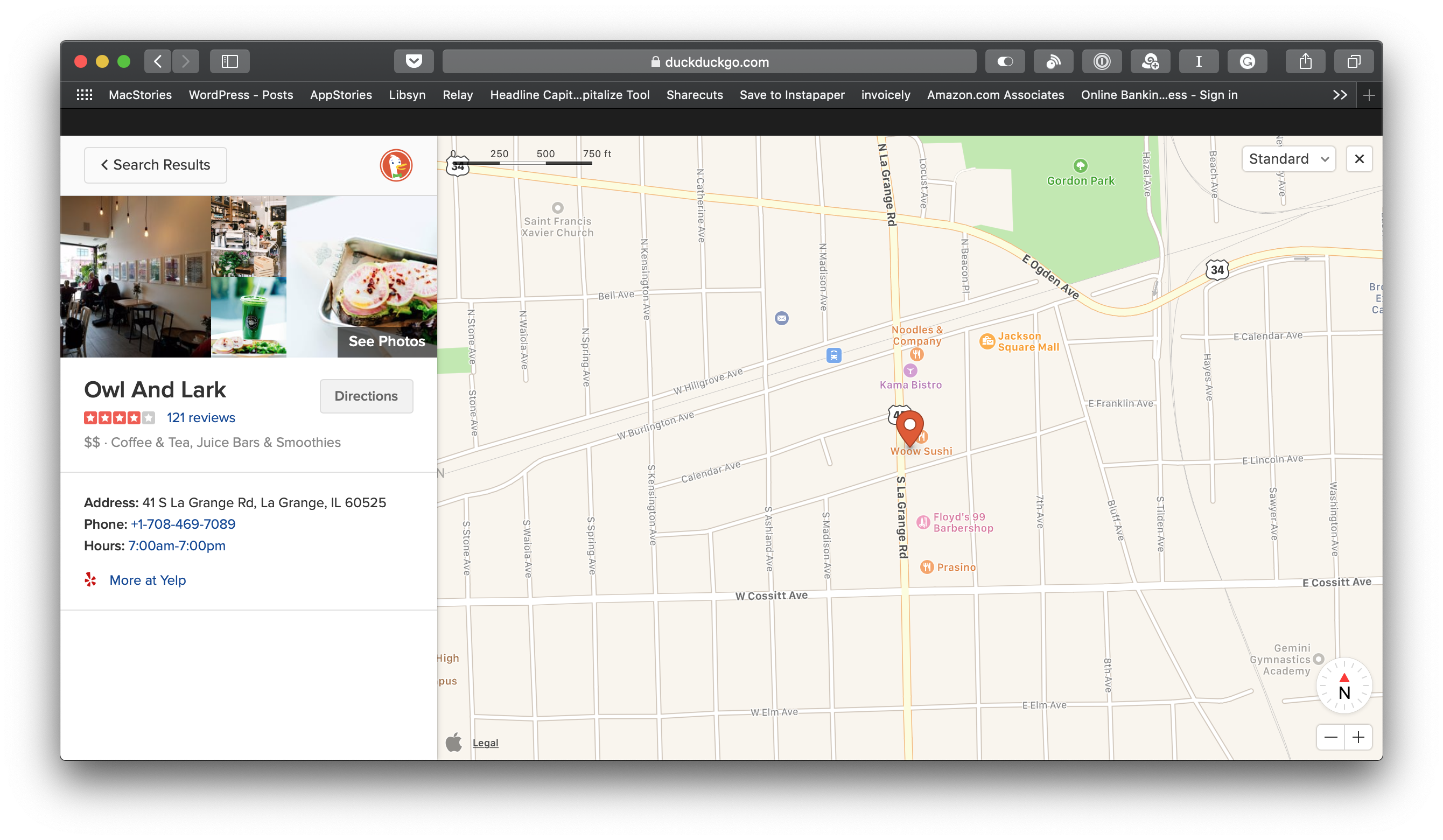 DuckDuckGo Switches to Apple Maps for Location Searches