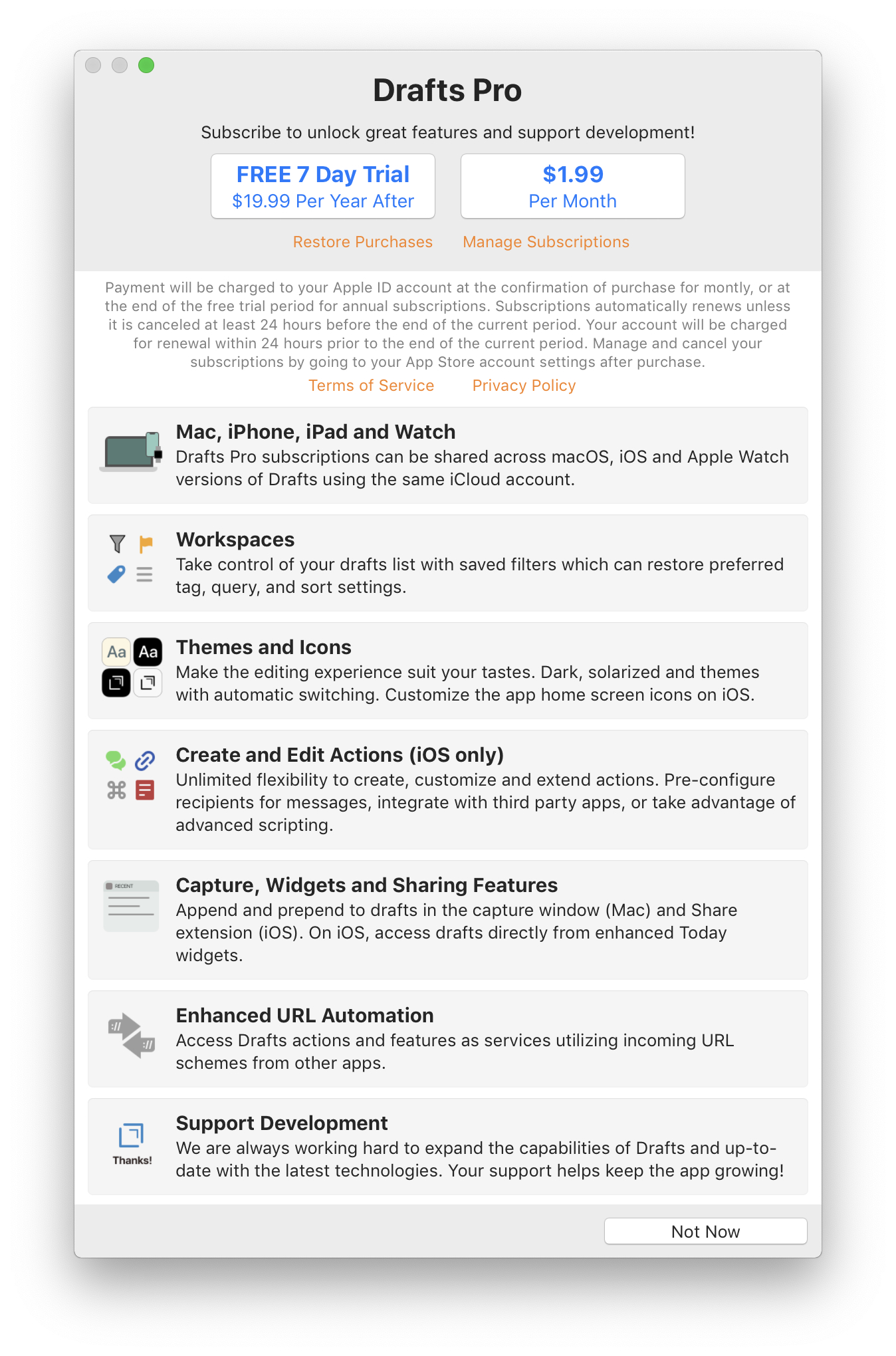 Drafts for Mac: The MacStories Review MacStories