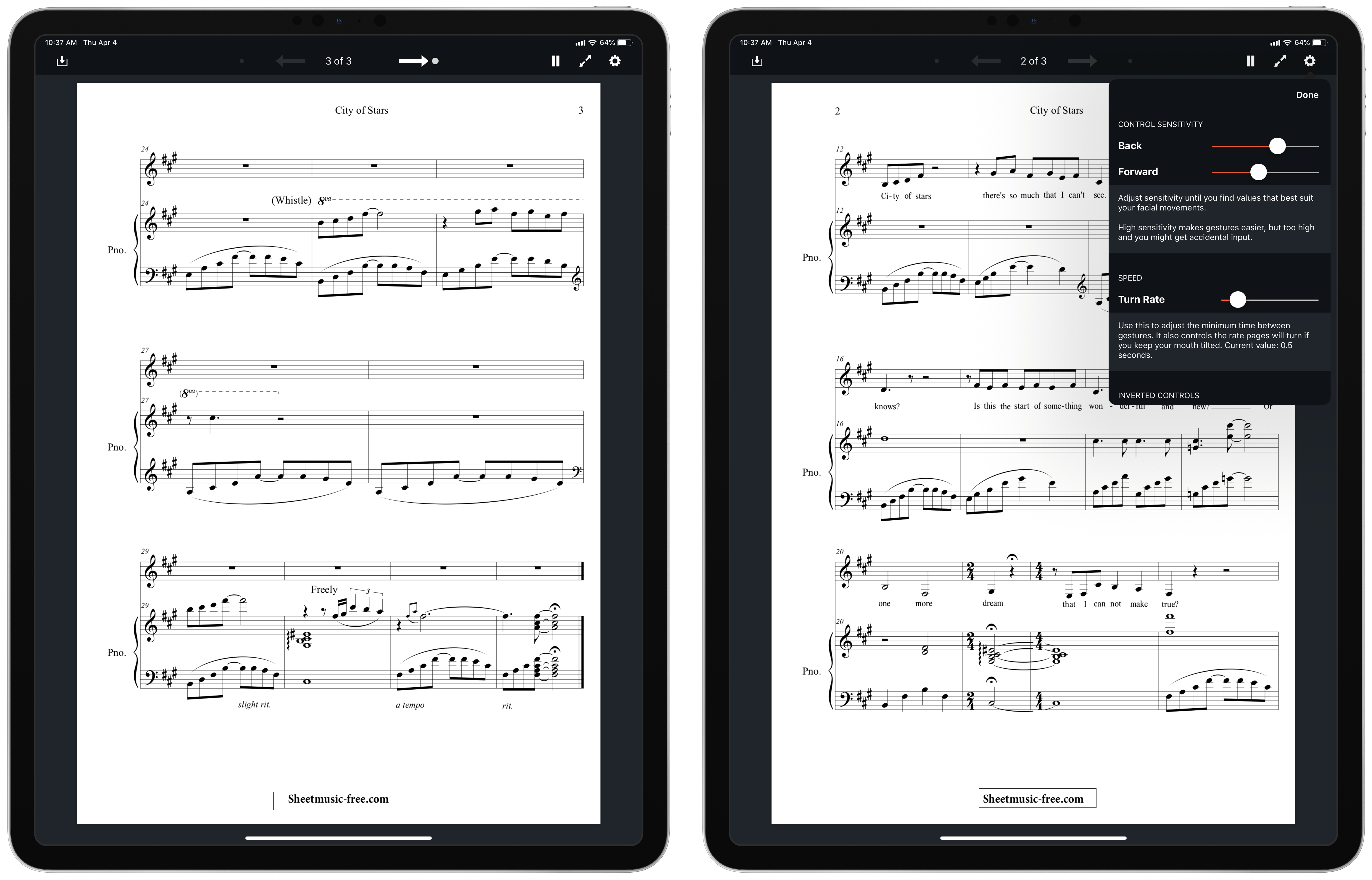 PageTurn Uses Facial Recognition for Hands-Free Navigation of PDFs, Perfect for Musicians