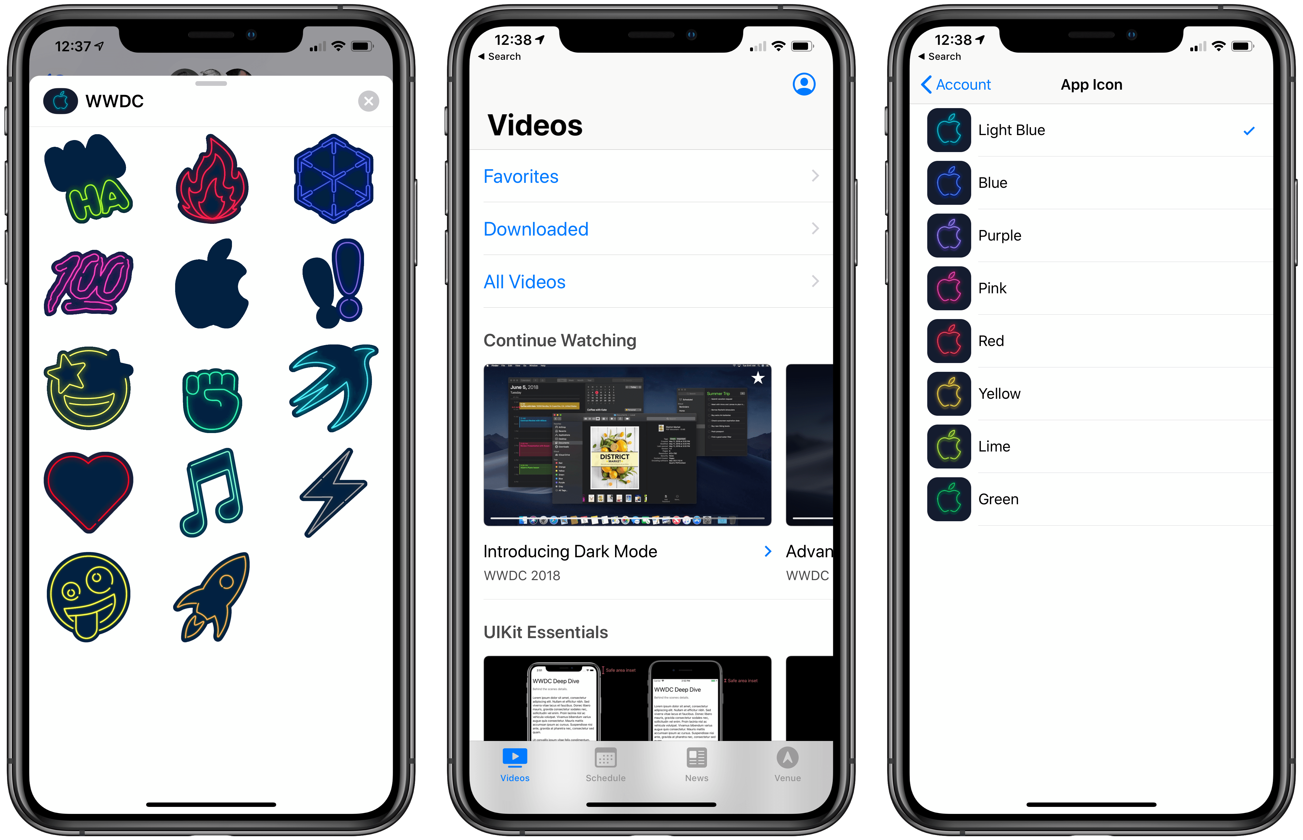 Apple Updates WWDC App in Advance of Conference