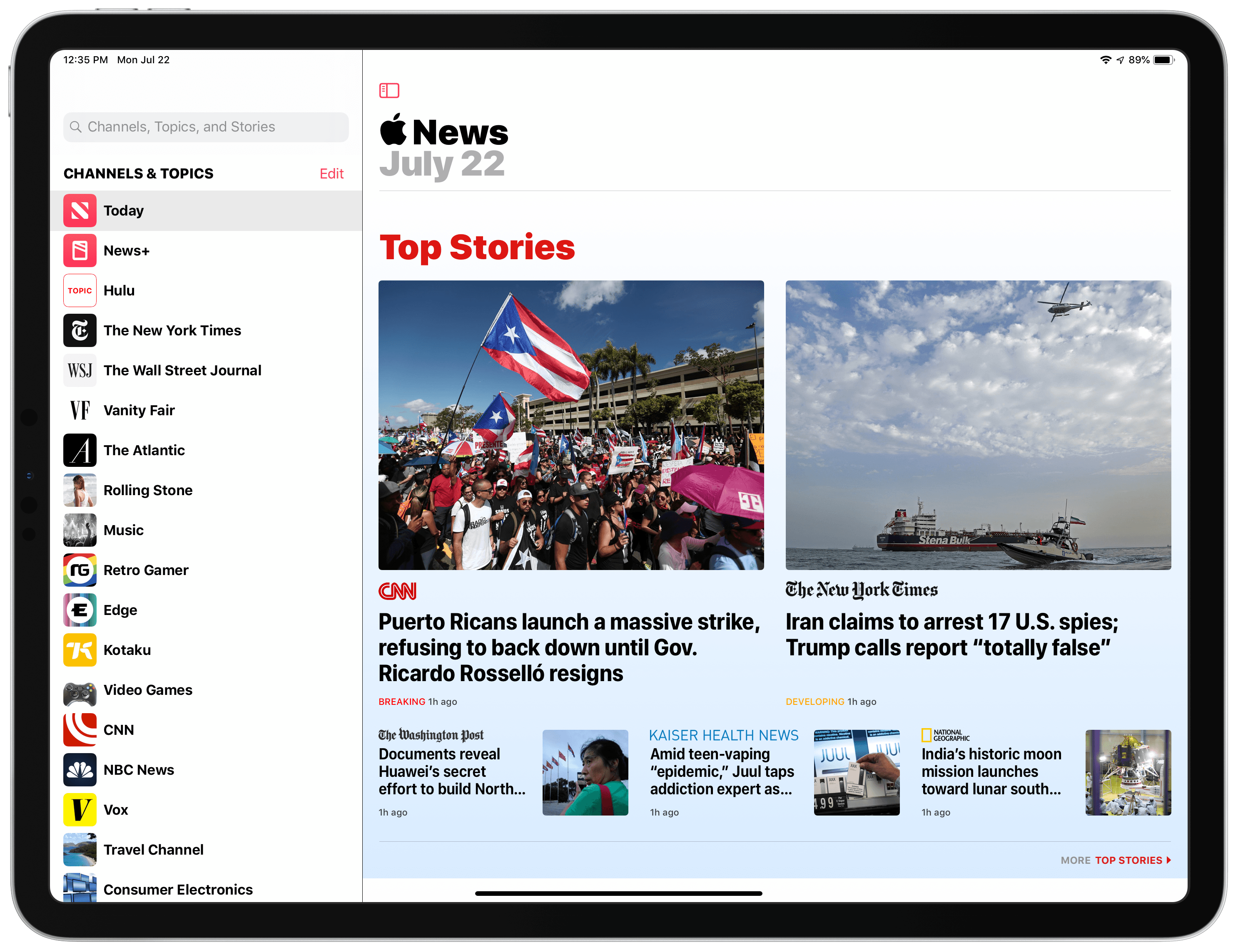 Apple Releases iOS 12.4 Update with Improvements to Apple News, iPhone Migration Tool, and Other Changes But No Apple Card