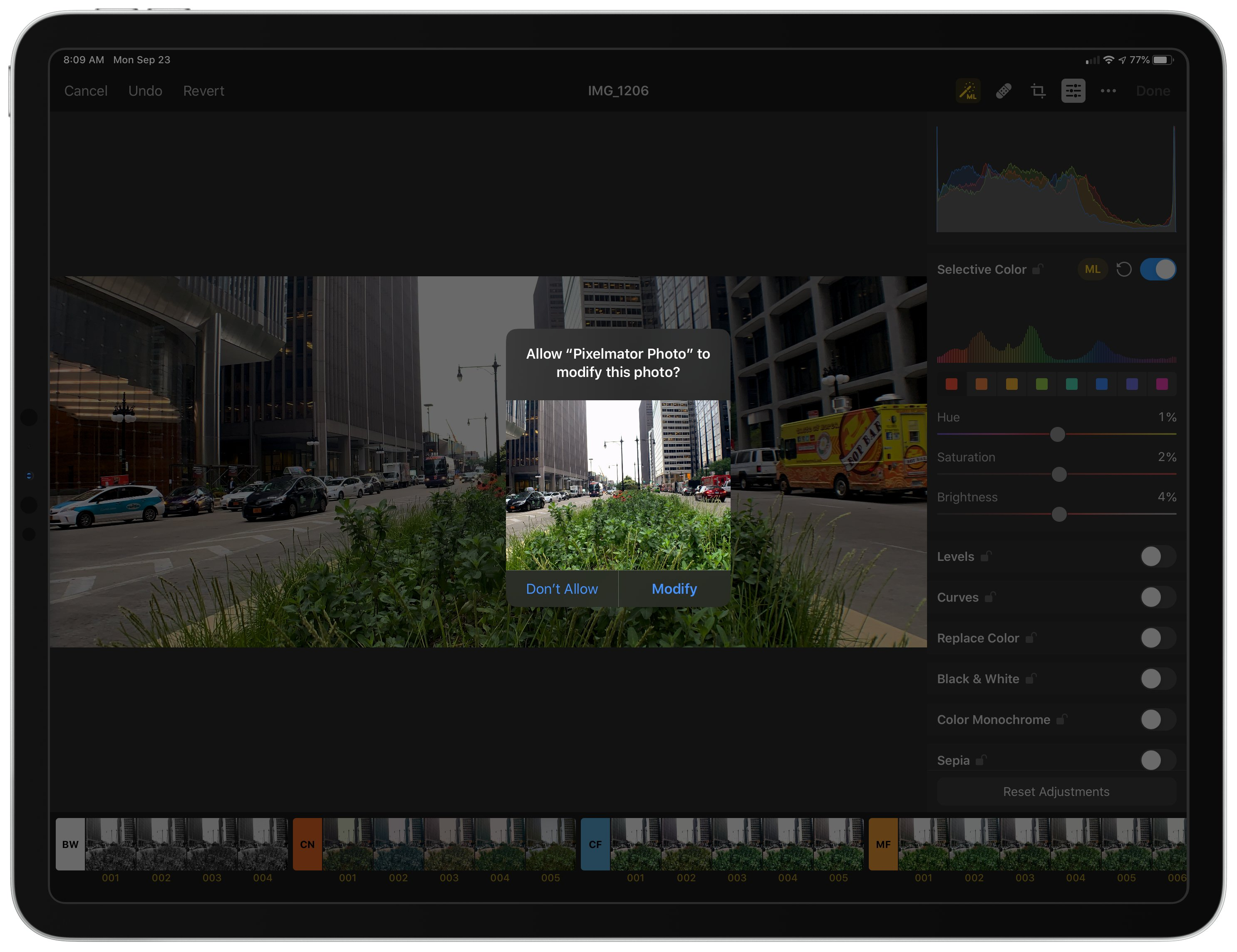 Pixelmator Photo Adds Direct iCloud Photo Library Access, Batch Editing, and New Export Features