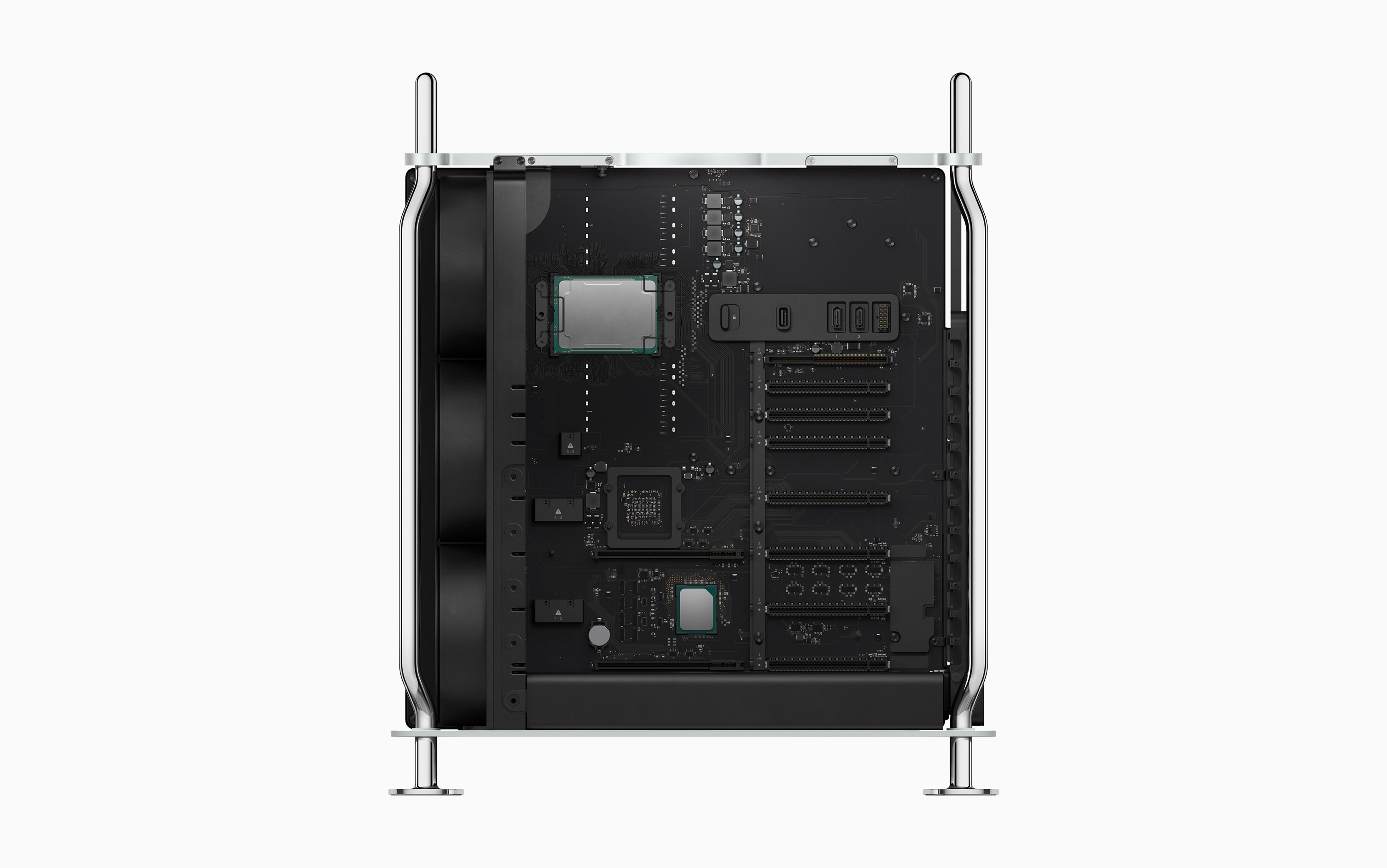 A look inside the new Mac Pro.