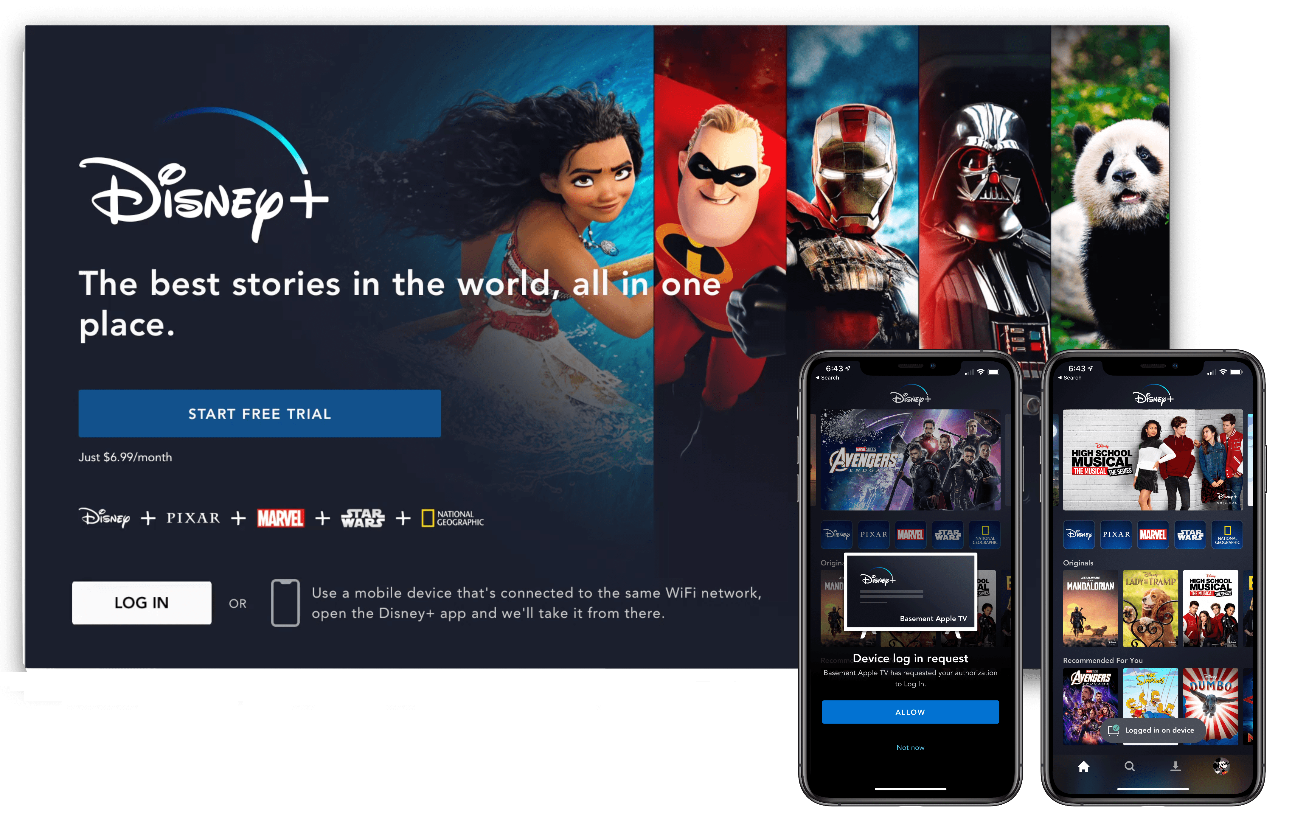 Disney+ Available Now, Integrated with Apple's TV App But Not as a Channel  - MacStories