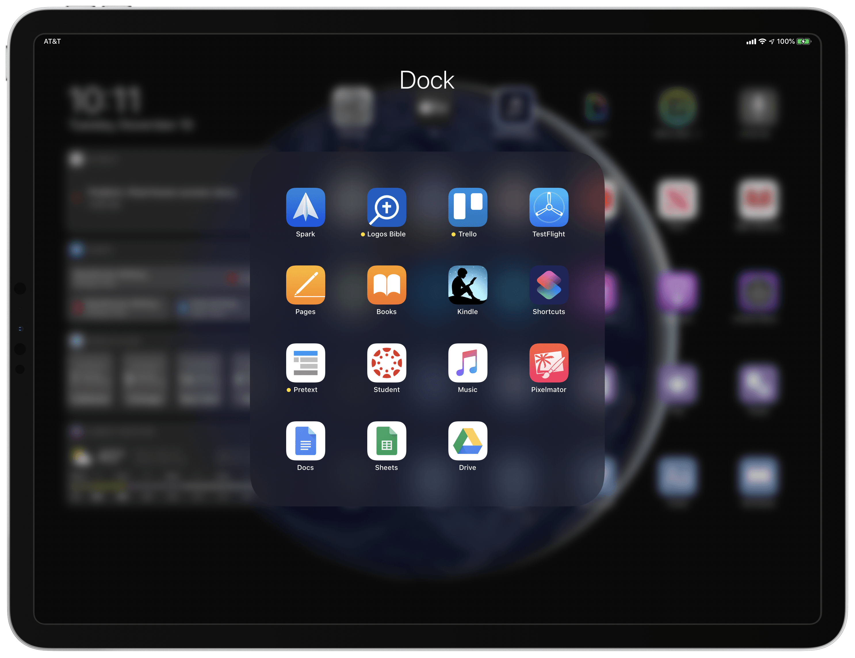 My Modern iPad Home Screen: Apps, Widgets, Files, Folders, and Shortcuts