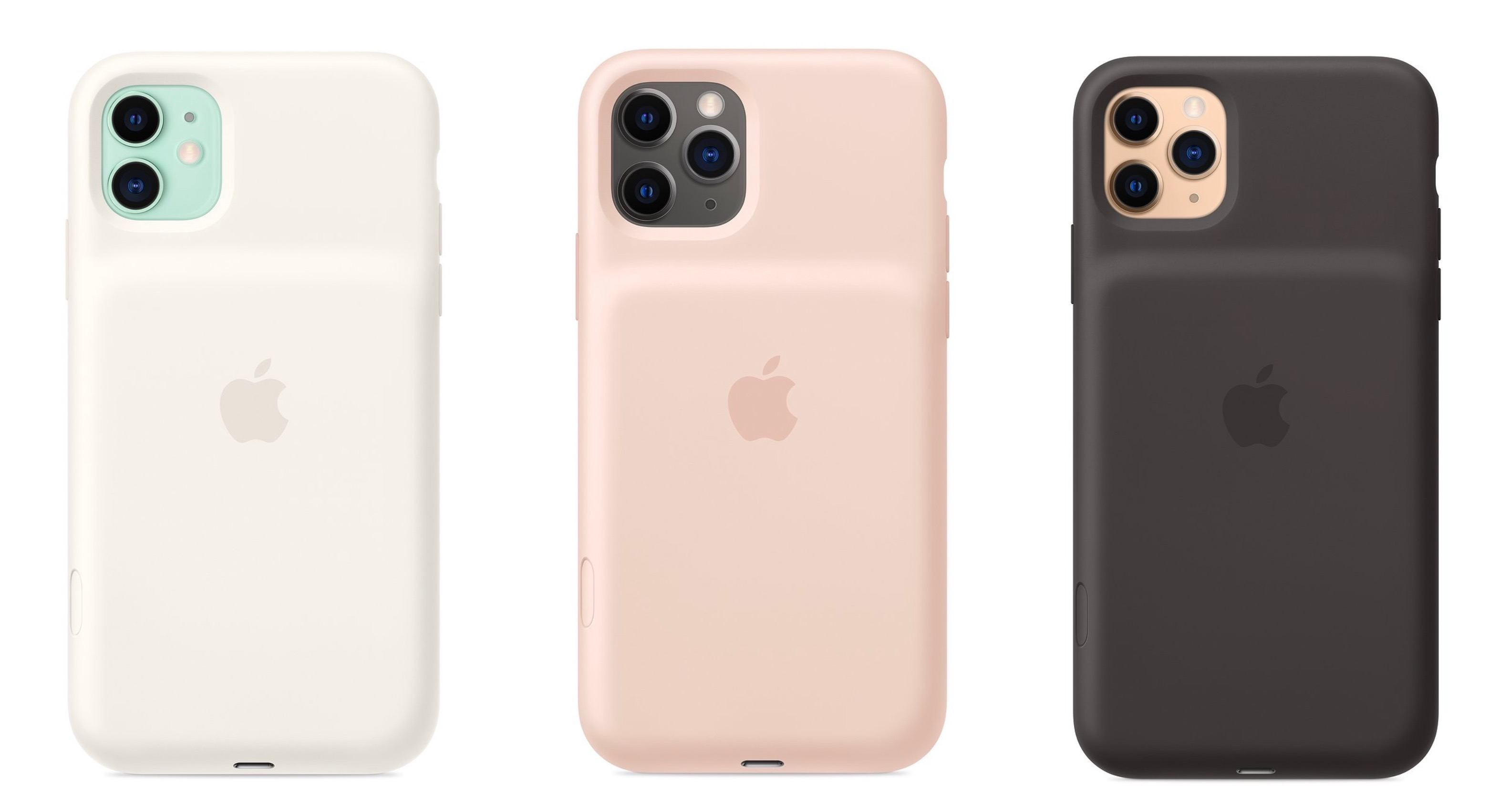 Apple's New iPhone 11 Cases Feature a Built-In Battery & Camera Shortcut Button