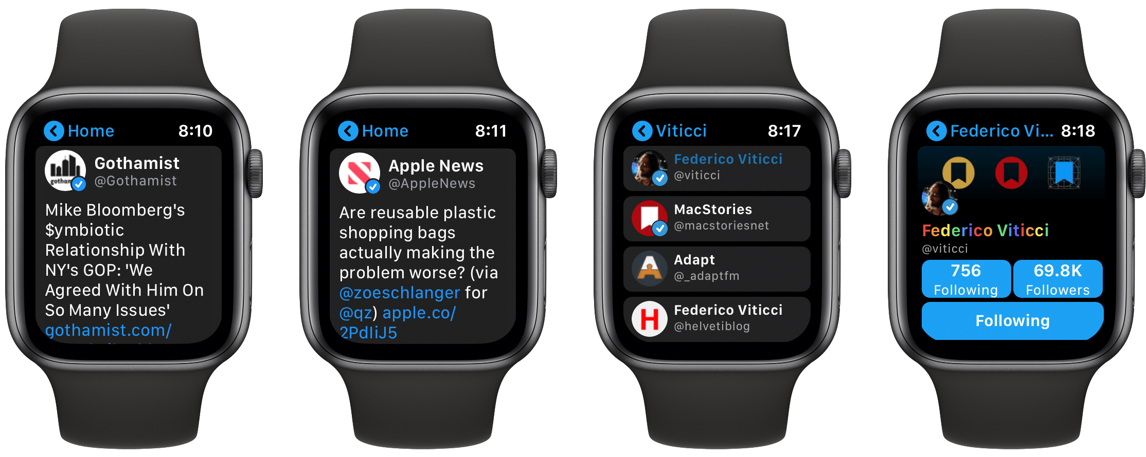 Chirp 2.0 Offers a Remarkably Full-Featured Twitter Experience on Apple Watch