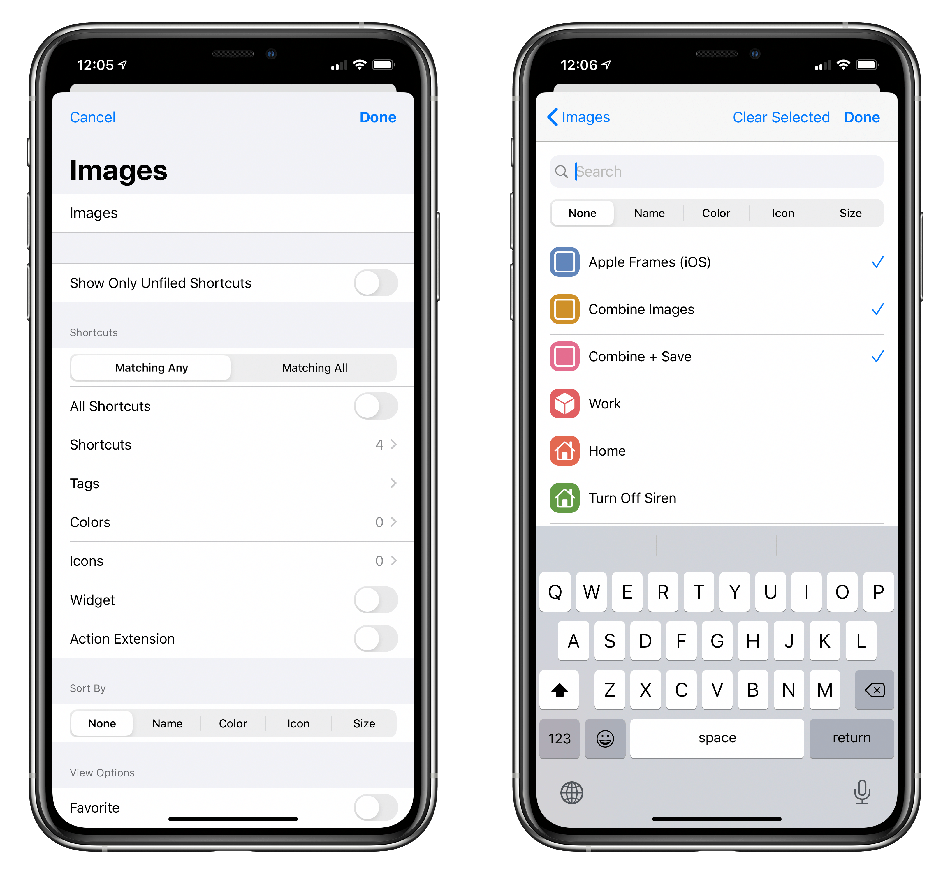 When you create a regular folder in LaunchCuts, you need to manually add shortcuts to it.