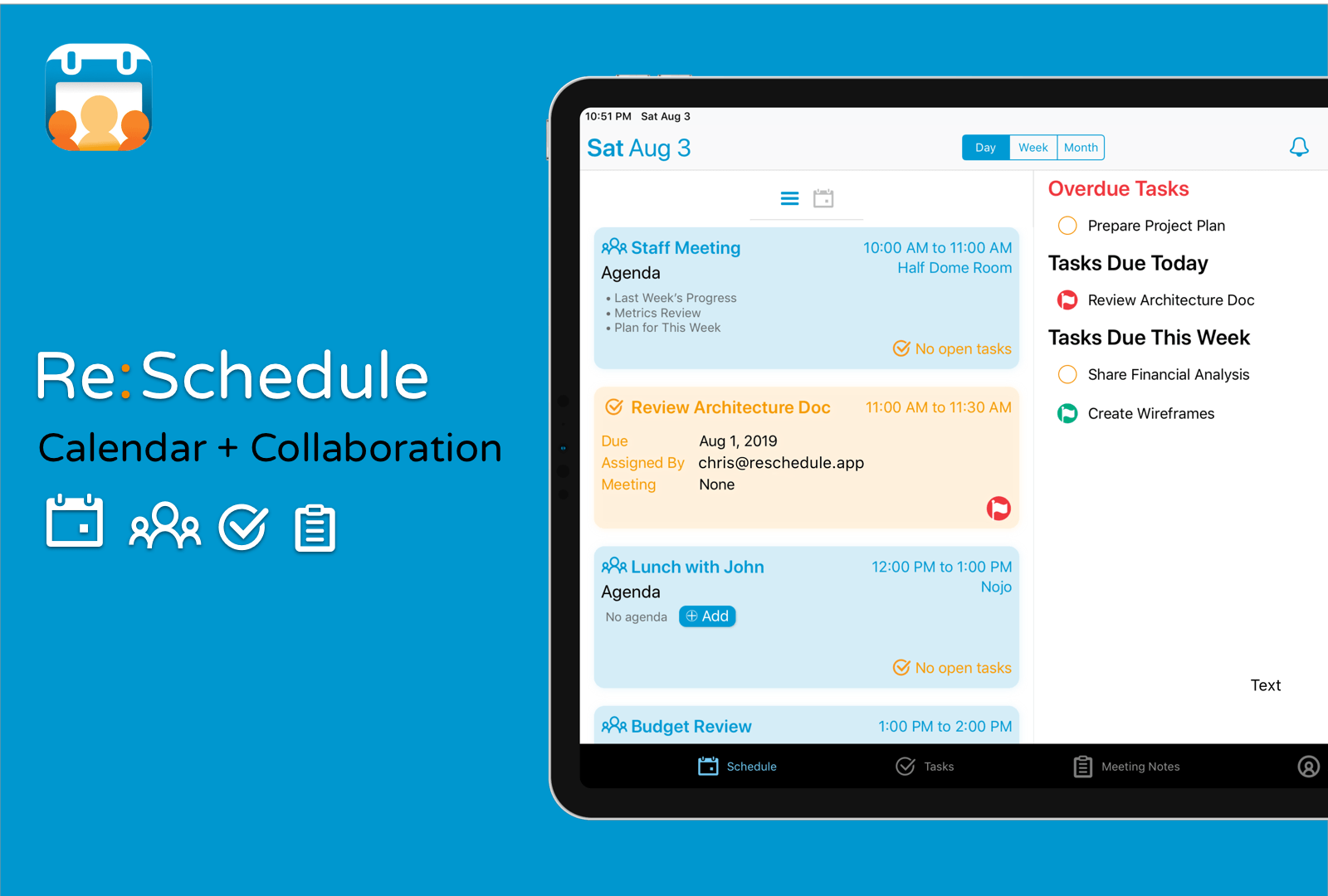 Re:Schedule: A Calendar that Will Change the Way You Work [Sponsor]